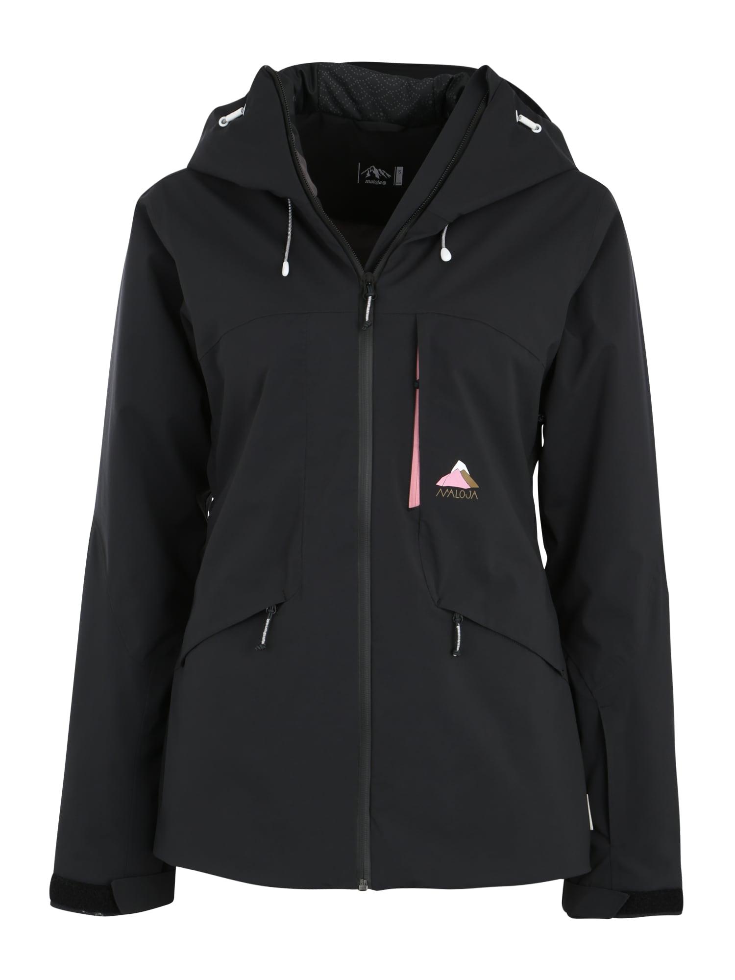 Outdoorová bunda RamunM. černá Maloja