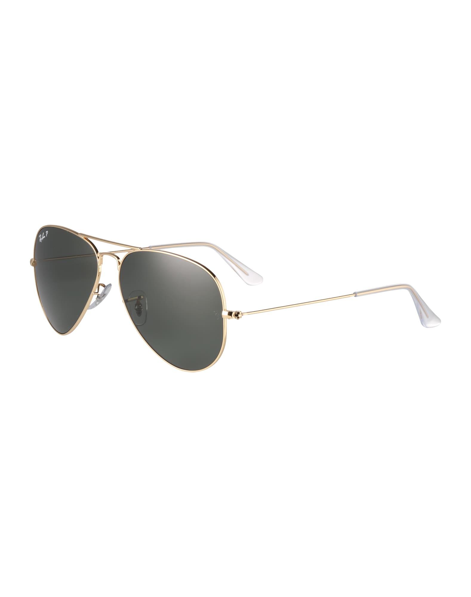 Sluneční brýle Aviator zlatá zelená Ray-Ban