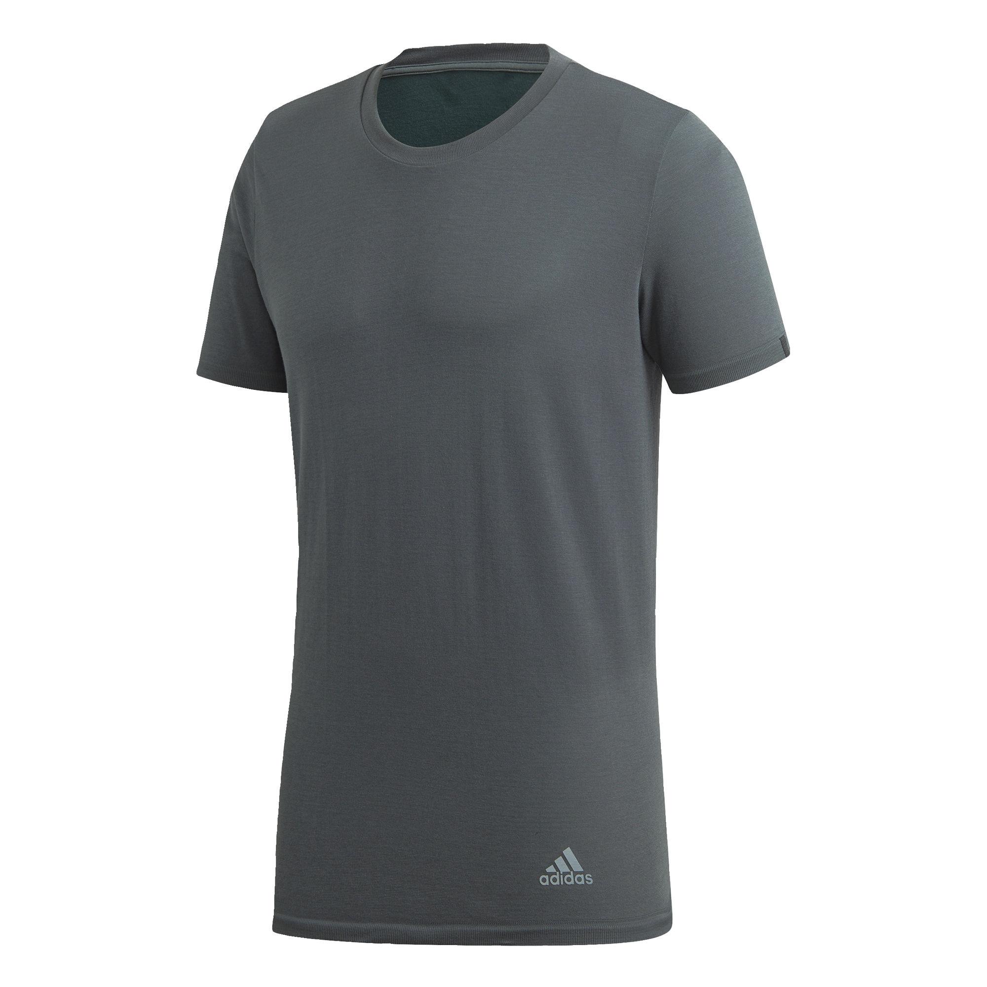 Funkční tričko 257 tmavě šedá ADIDAS PERFORMANCE