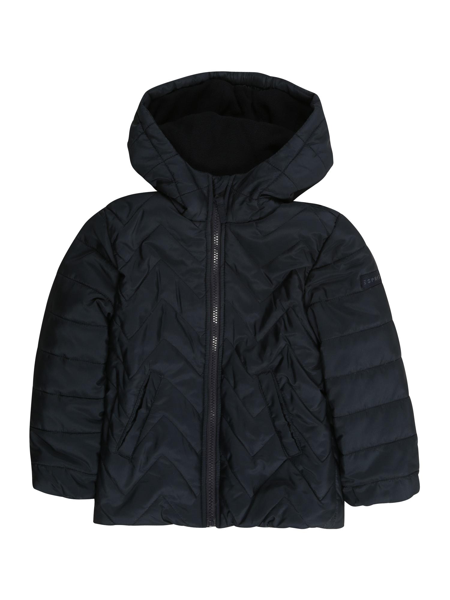 Zimní bunda námořnická modř ESPRIT