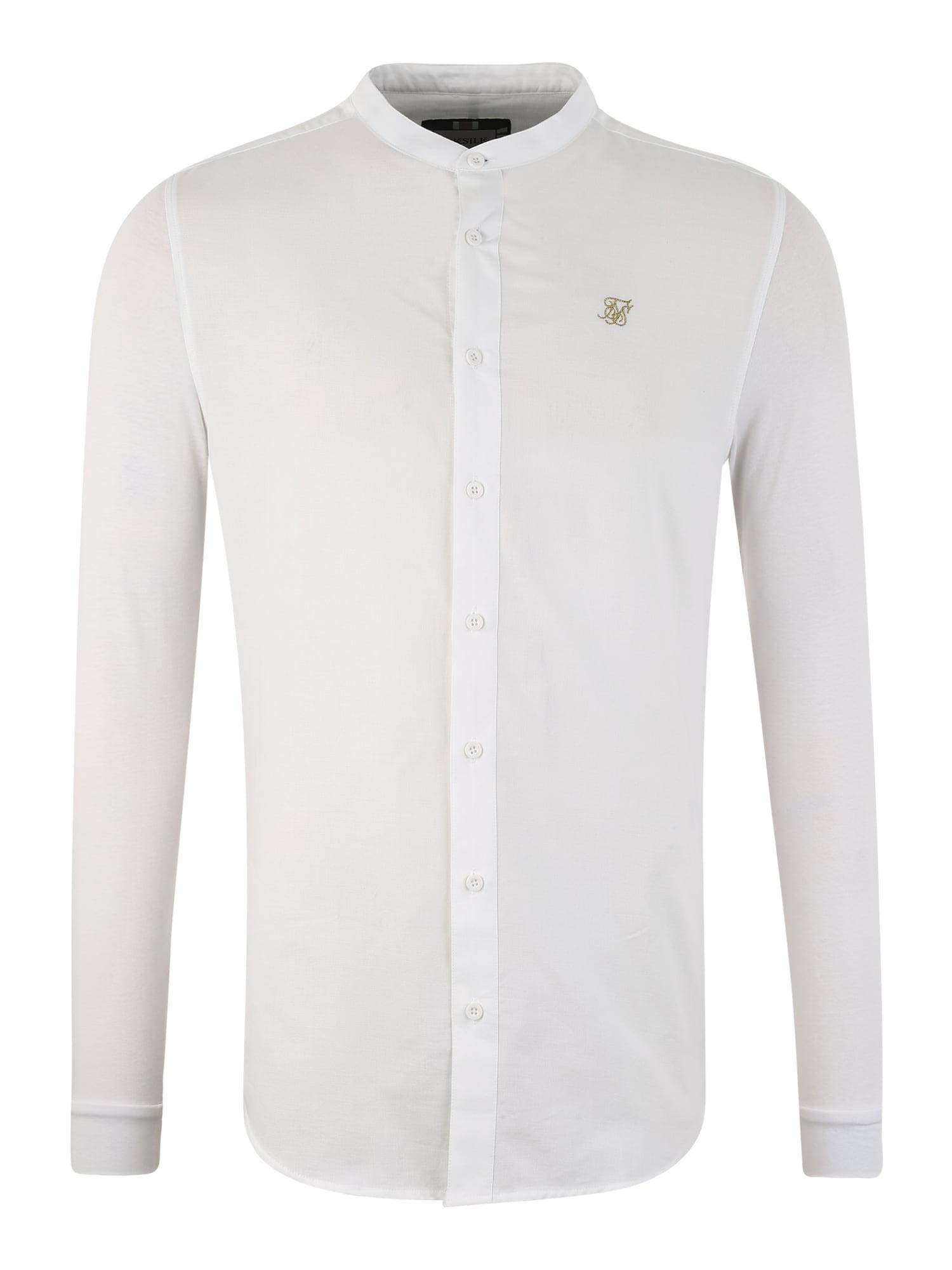 Košile bílá SikSilk