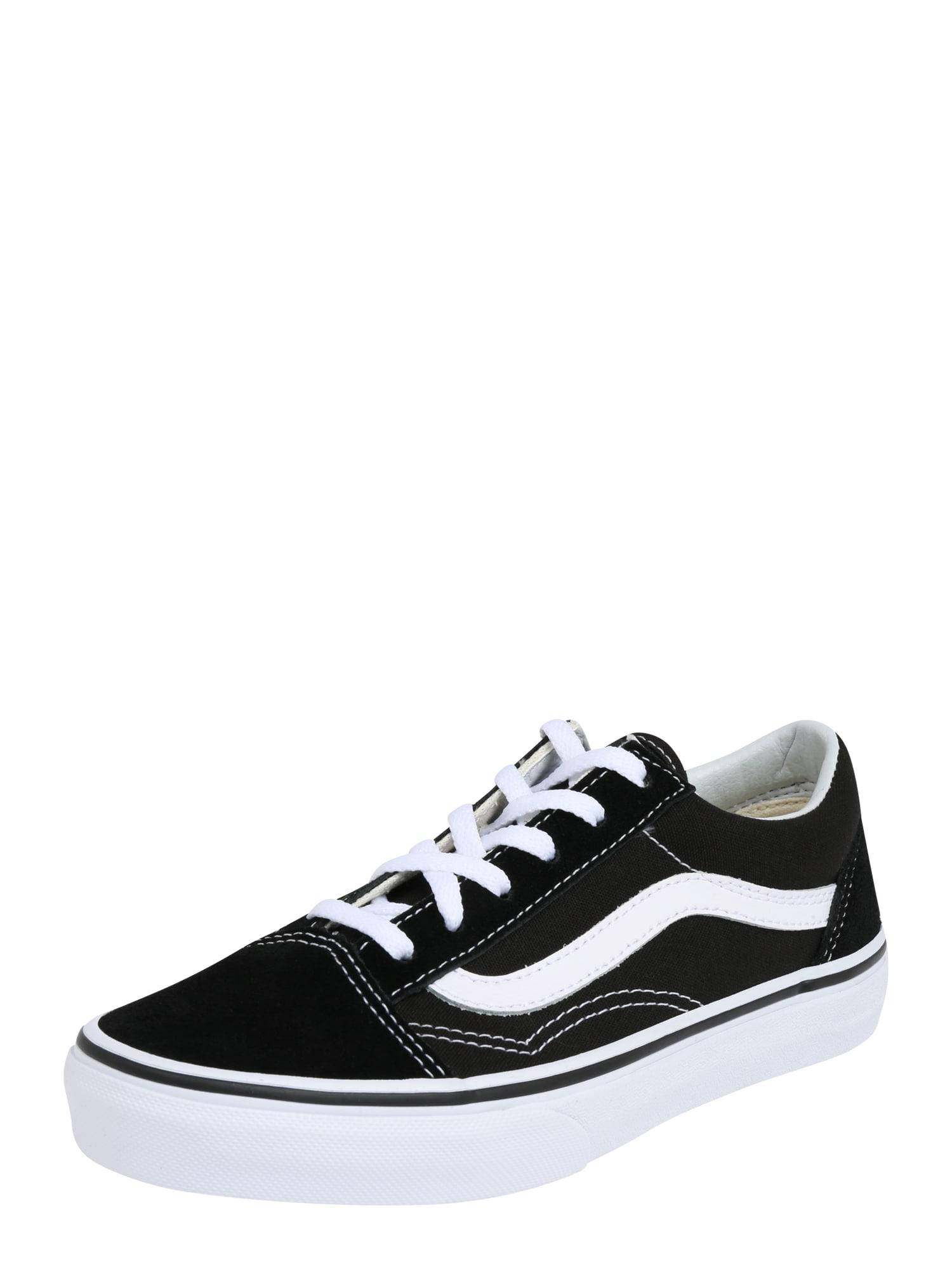 VANS, Jongens Sneakers 'Old Skool', zwart / wit