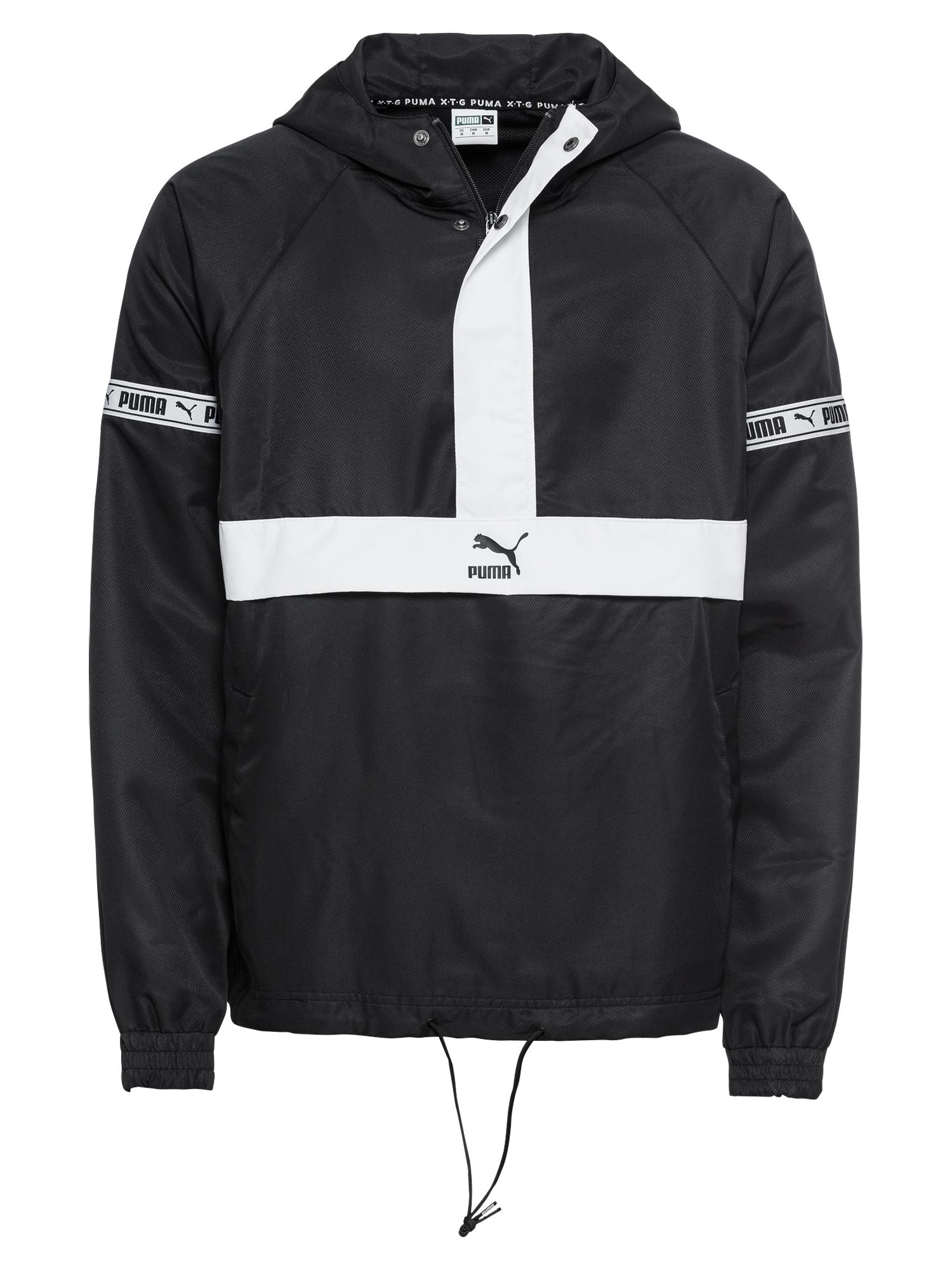 Přechodná bunda XTG Savannah černá bílá PUMA