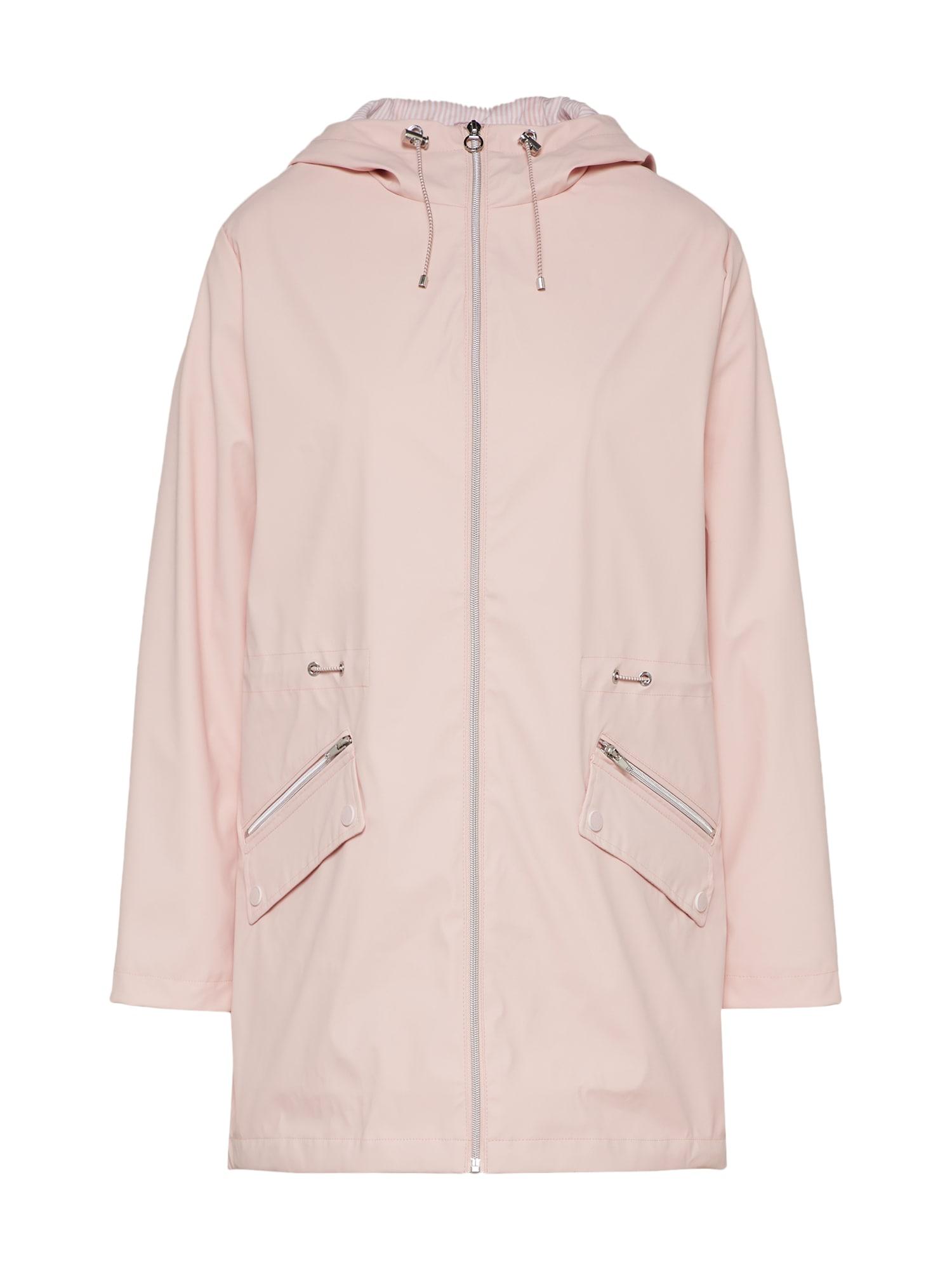 Přechodný kabát MANTEL růžová S.Oliver RED LABEL