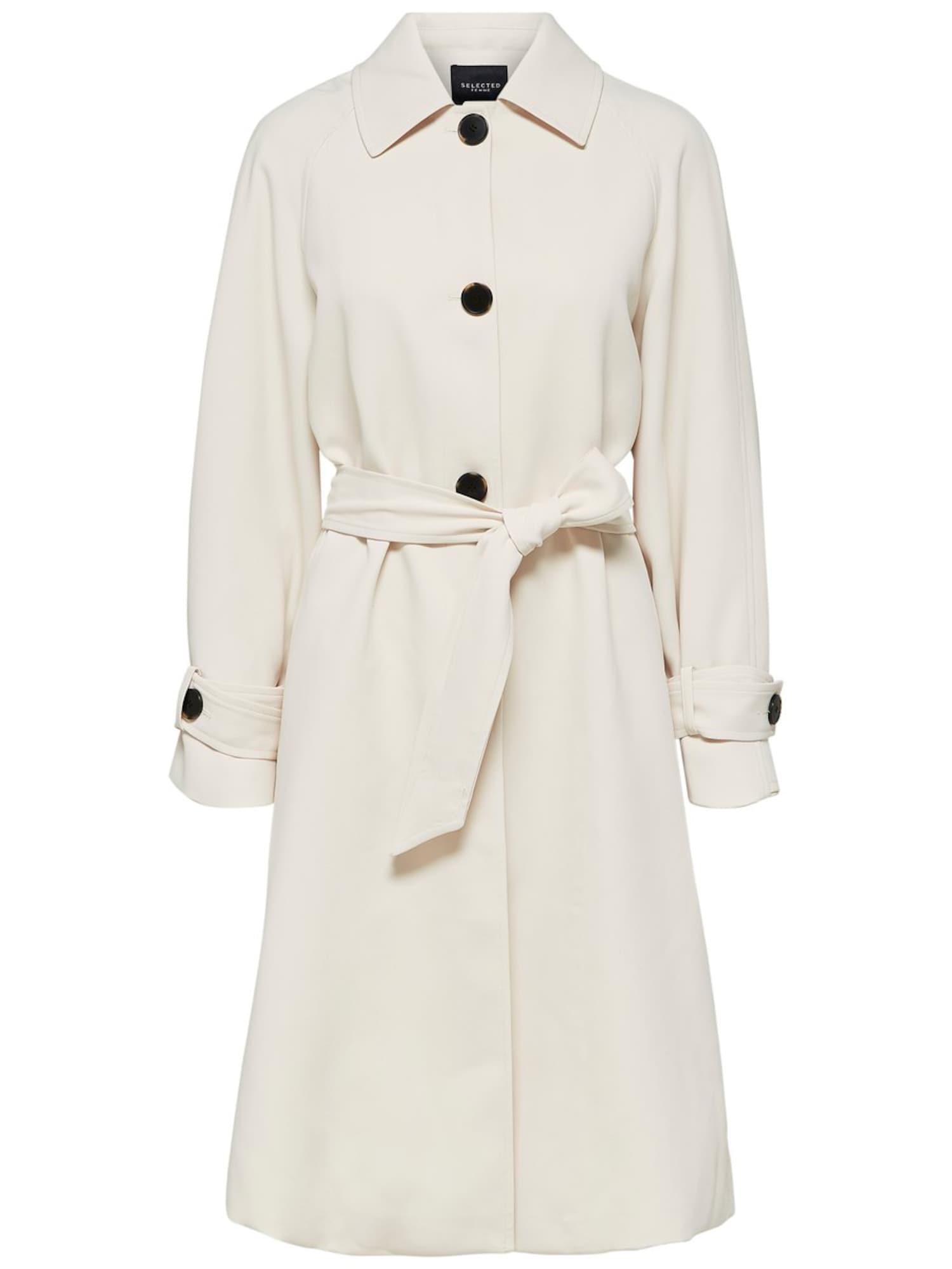 Trenchcoat   Bekleidung > Mäntel > Trenchcoats   Creme   Selected Femme