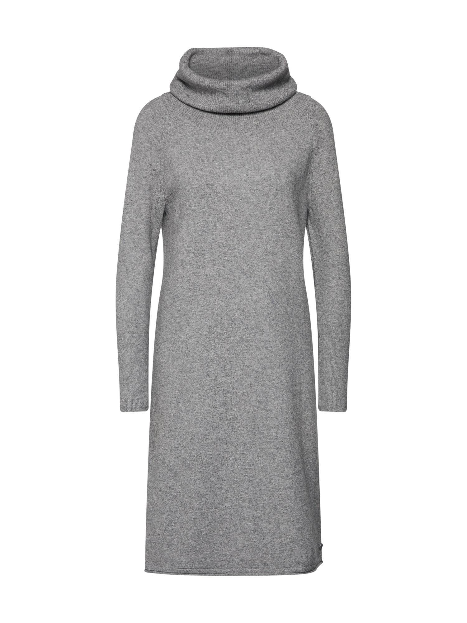 Marc OPolo Úpletové šaty šedá Marc O'Polo