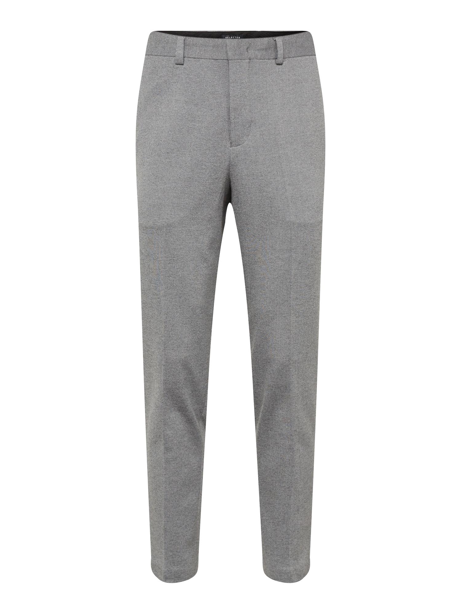 Kalhoty s puky šedá SELECTED HOMME