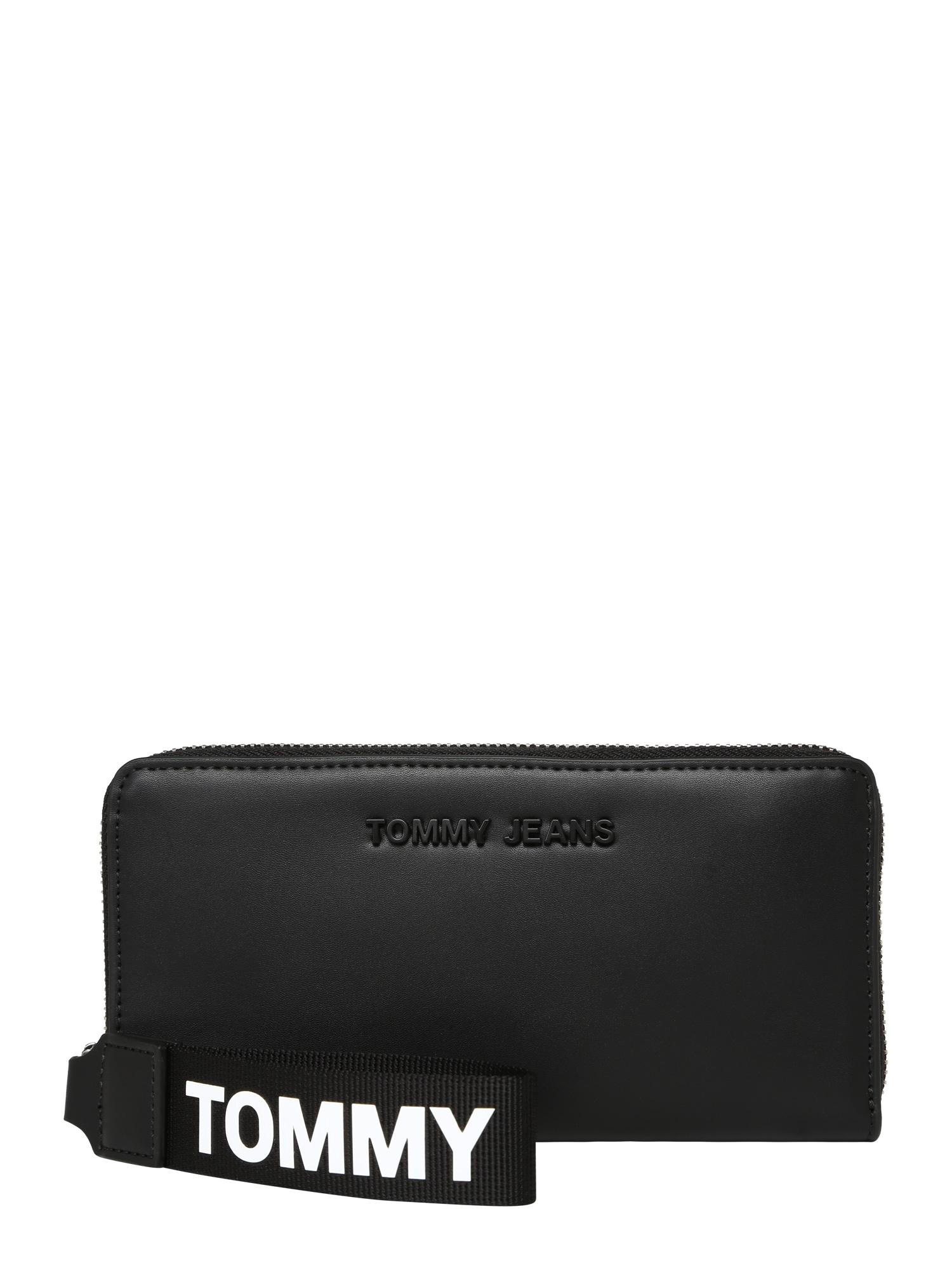 Peněženka černá bílá Tommy Jeans