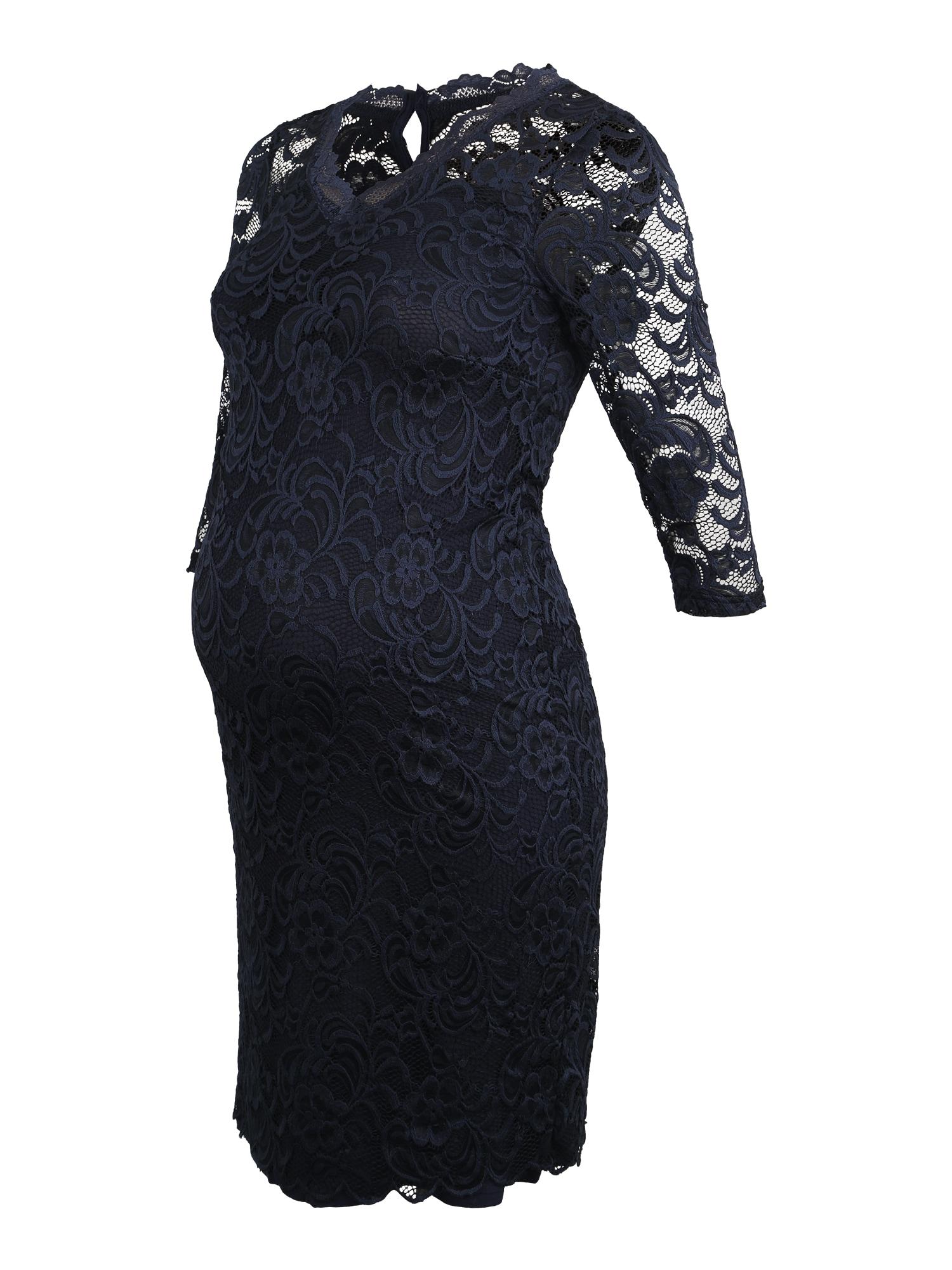 MAMALICIOUS Sukienka koktajlowa 'Mivana'  granatowy