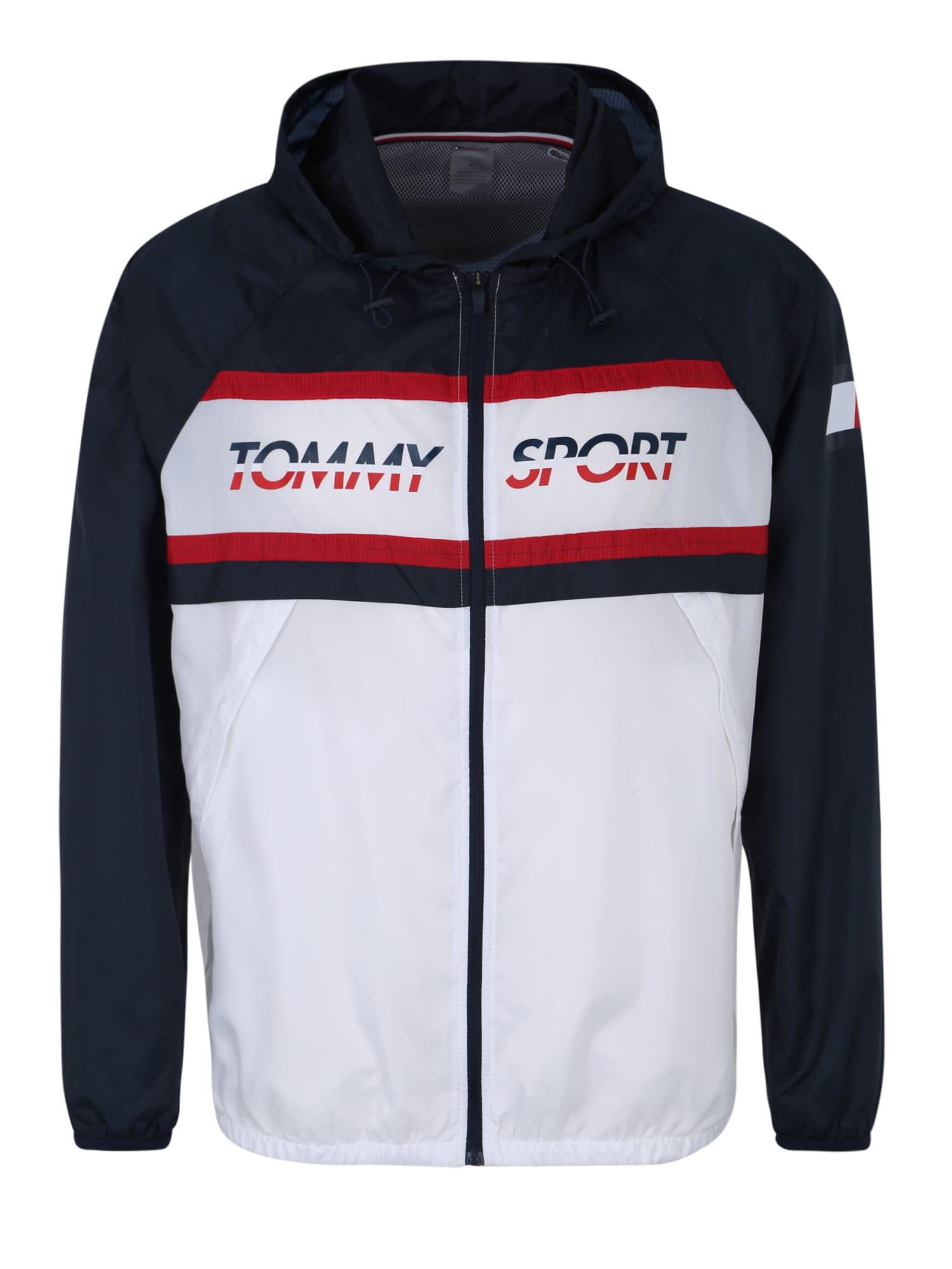 Sportovní bunda námořnická modř červená bílá Tommy Sport