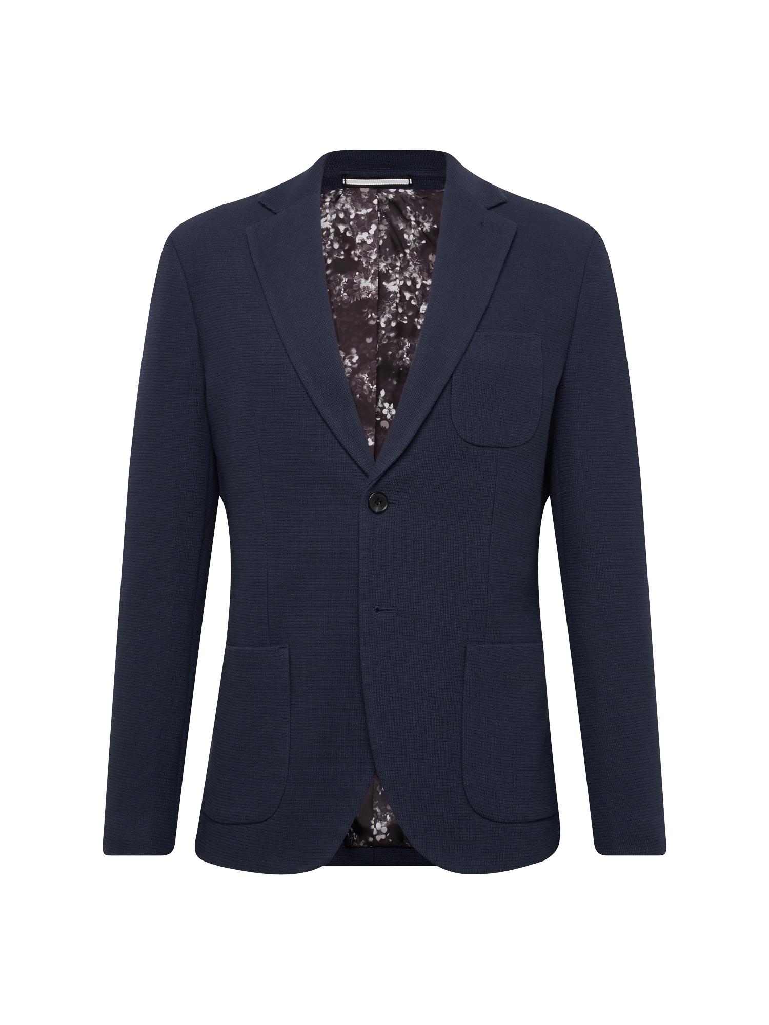 Oblek SLHSLIM-HALE NAVY BLAZER B tmavě modrá SELECTED HOMME