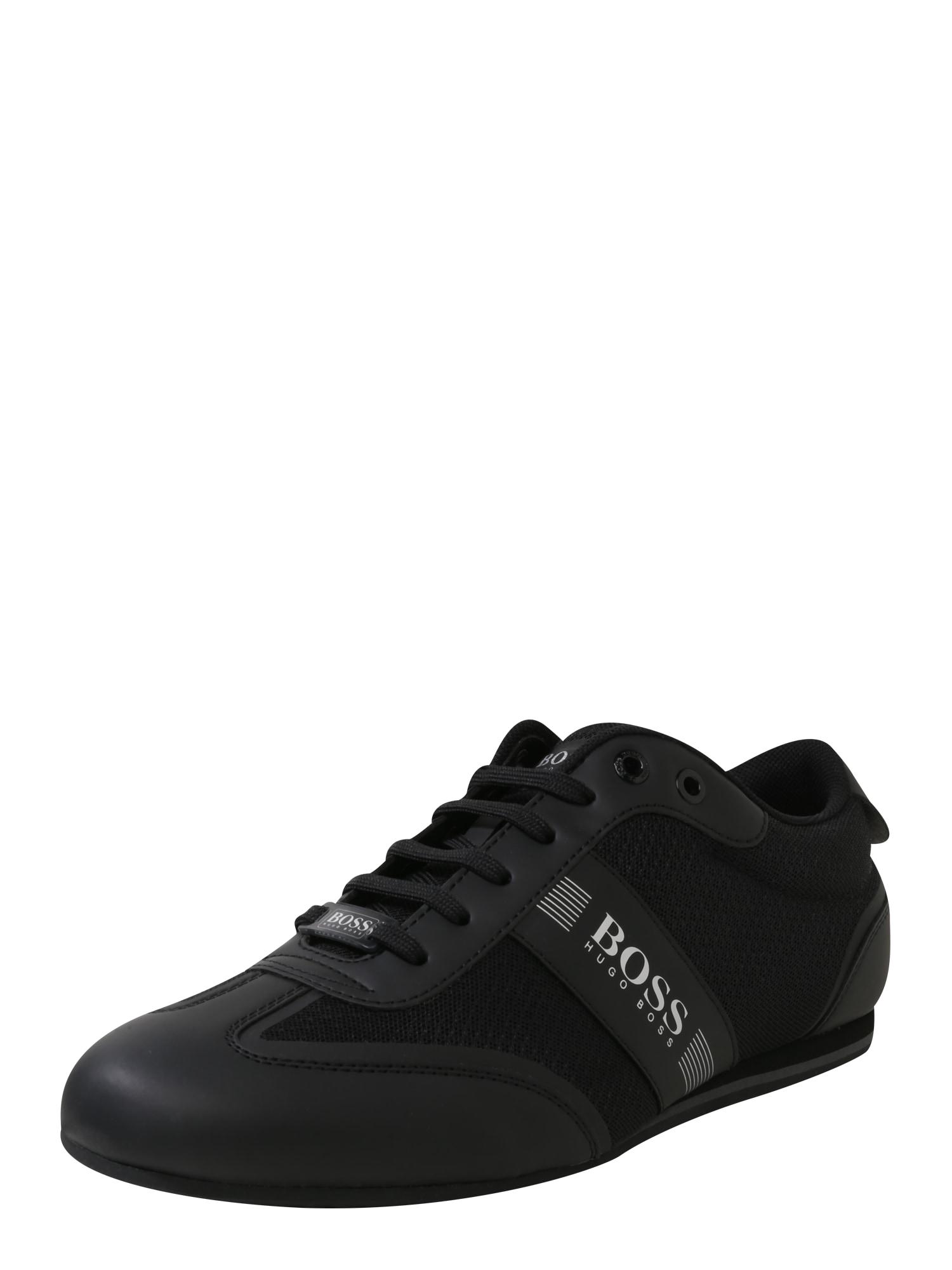 Sportovní šněrovací boty Ligter černá BOSS