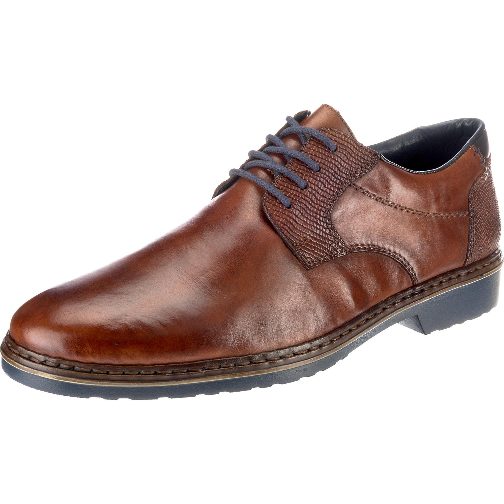 Šněrovací boty rezavě hnědá RIEKER