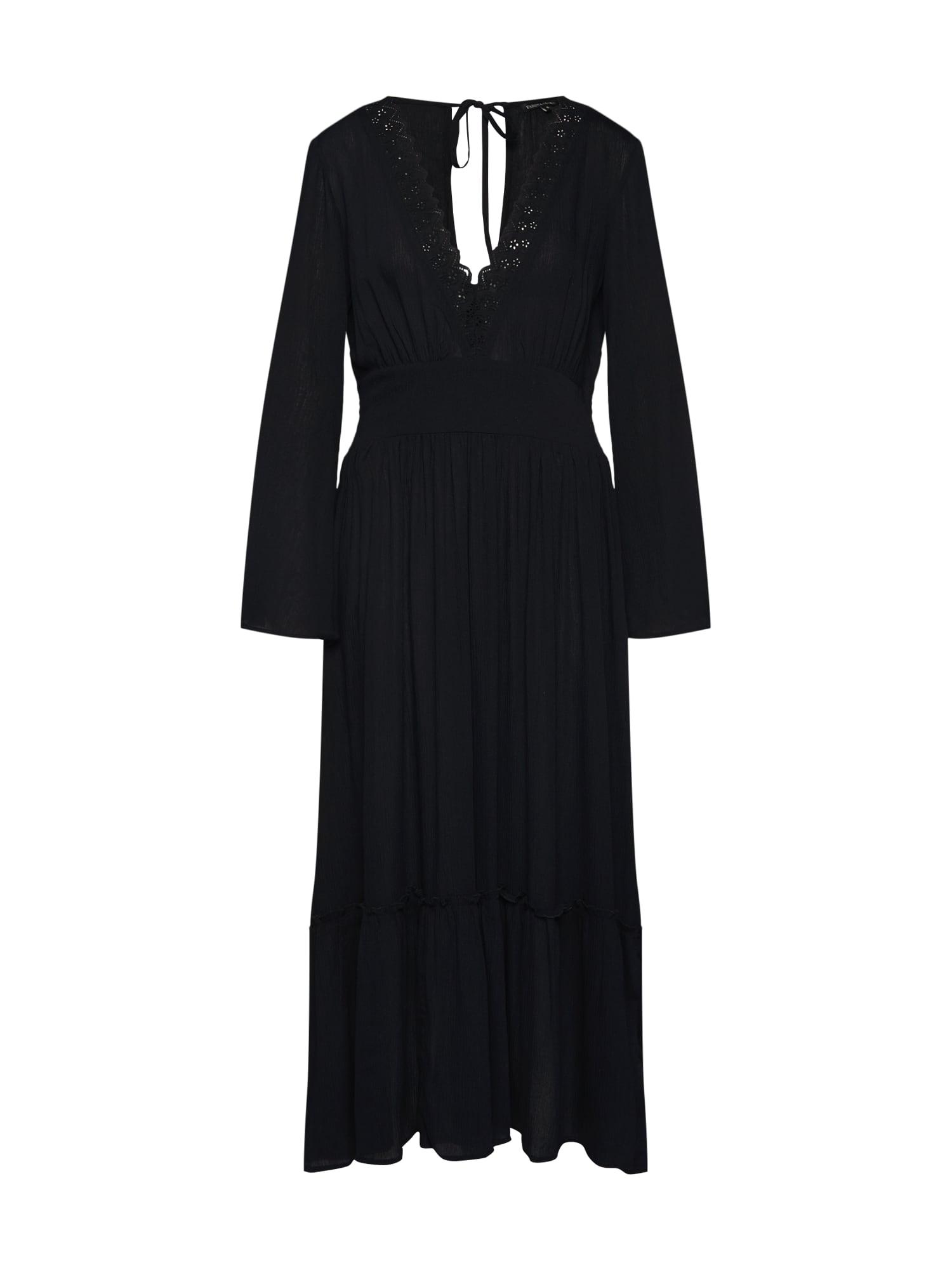 Šaty SAFAH černá Farina Opoku
