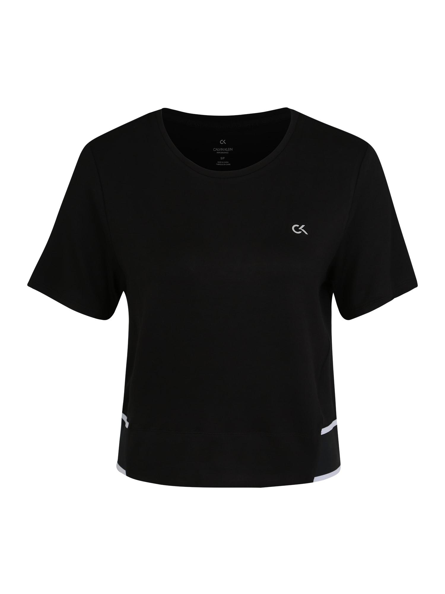 Funkční tričko černá Calvin Klein Performance