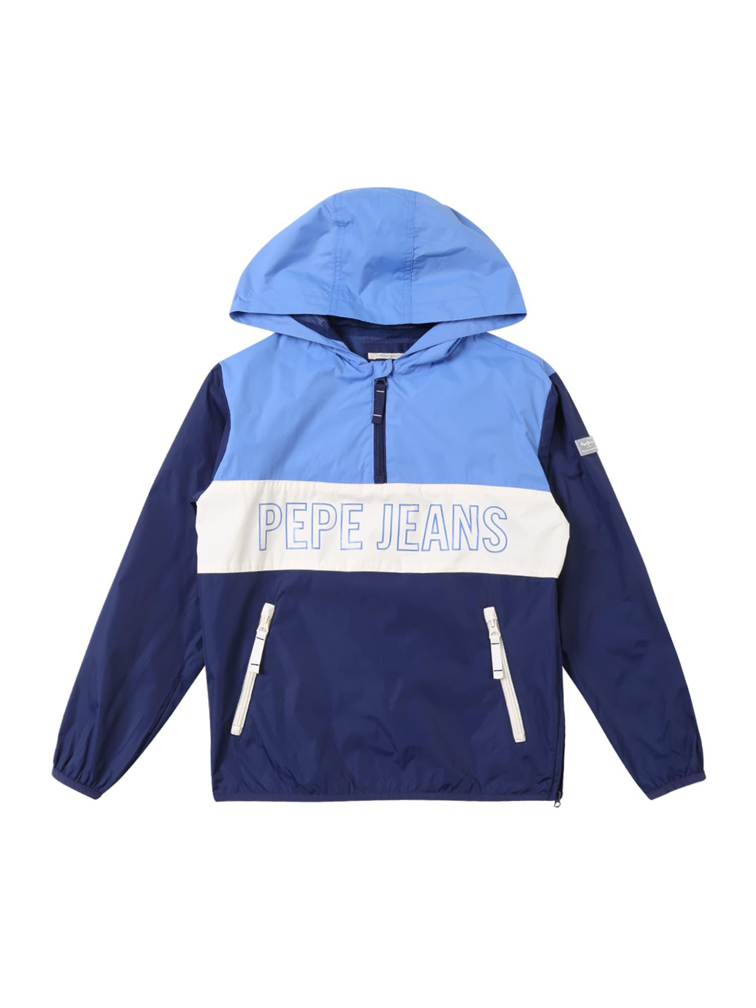 Přechodná bunda Brandon modrá Pepe Jeans