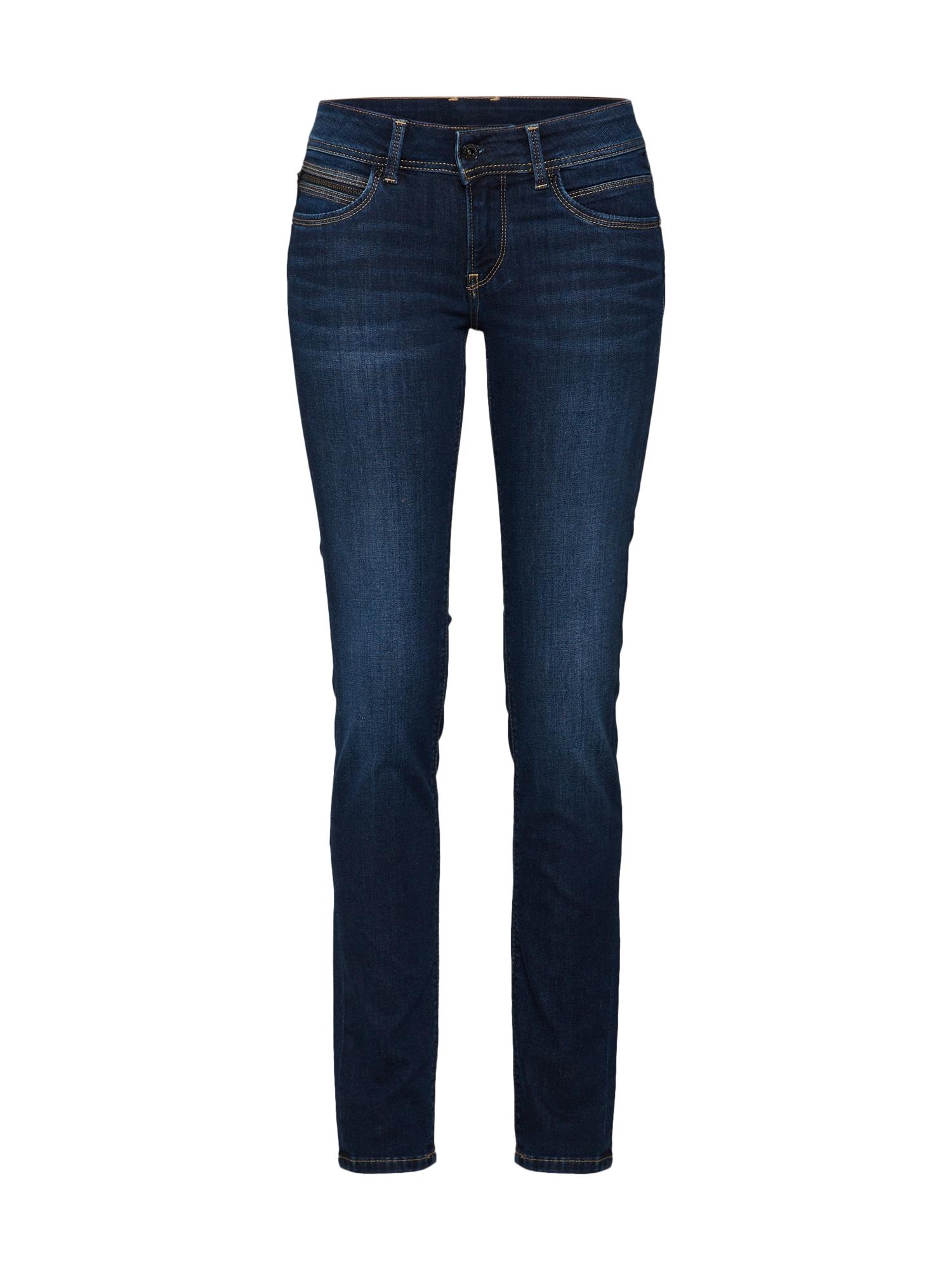 Kalhoty New Brooke modrá džínovina Pepe Jeans