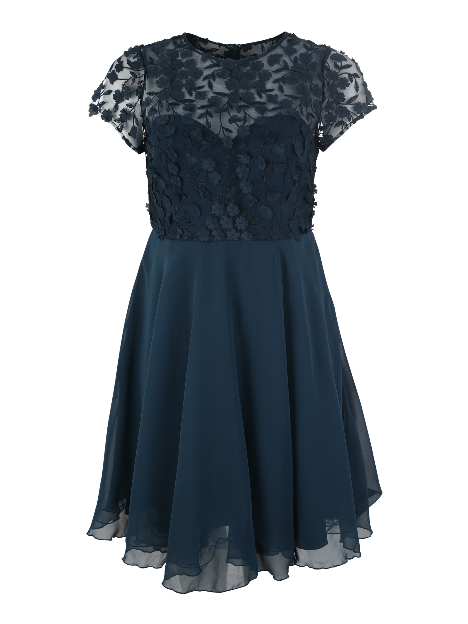 Koktejlové šaty Jana modrá Chi Chi Curve