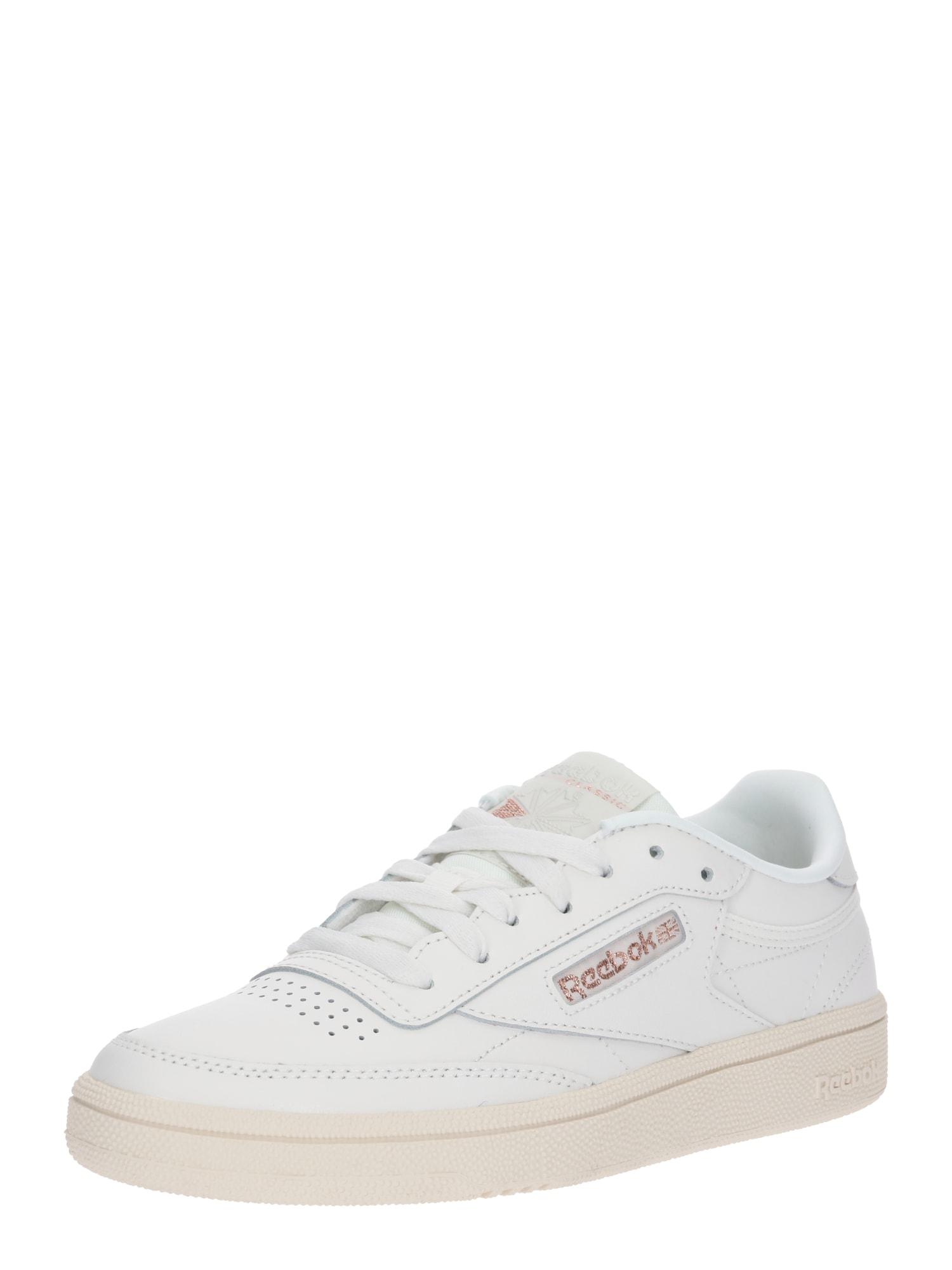 Tenisky Club C 85 zlatá růže bílá Reebok Classic