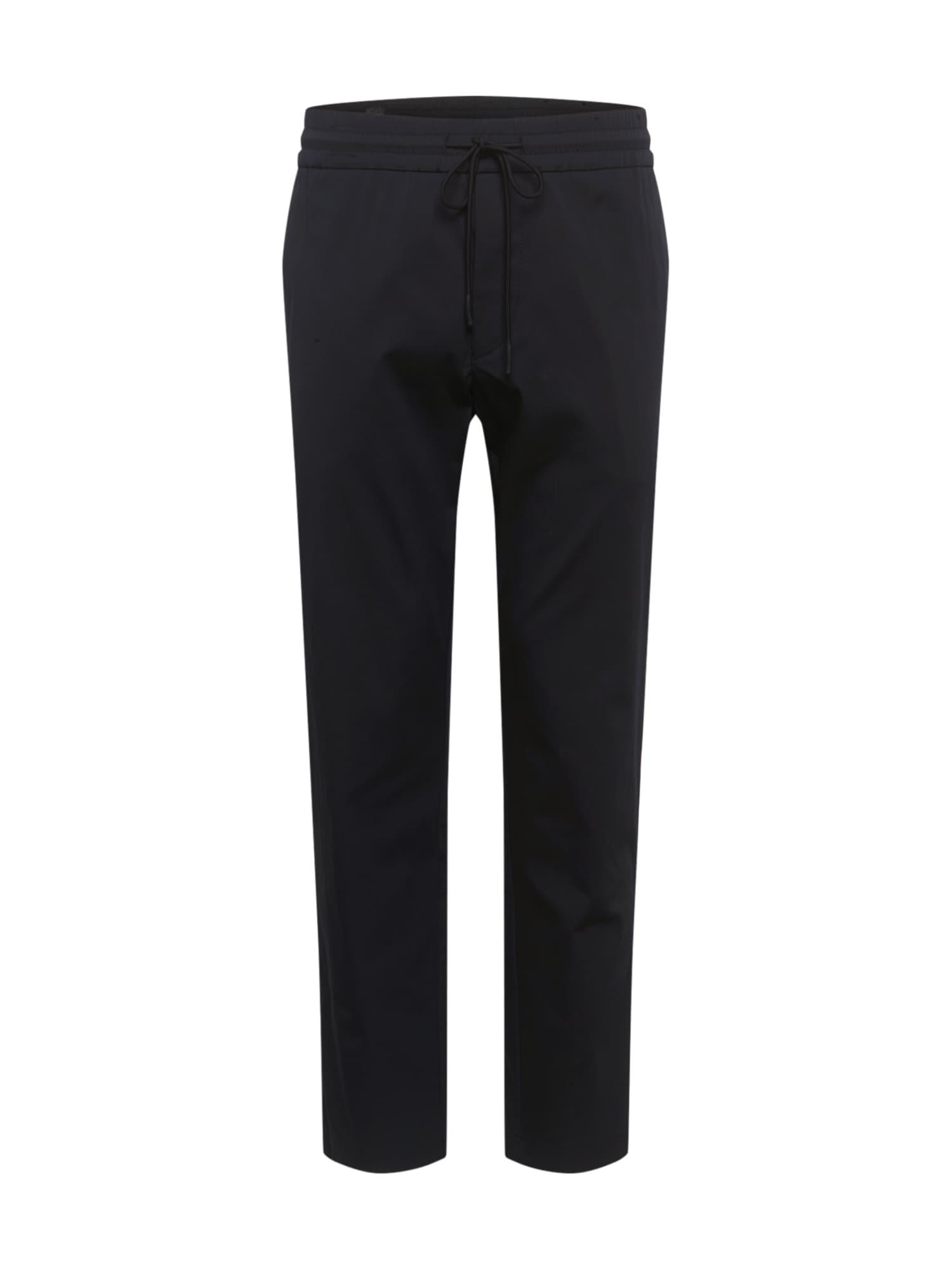 BOSS ATHLEISURE Kalhoty 'Keen2-11'  černá