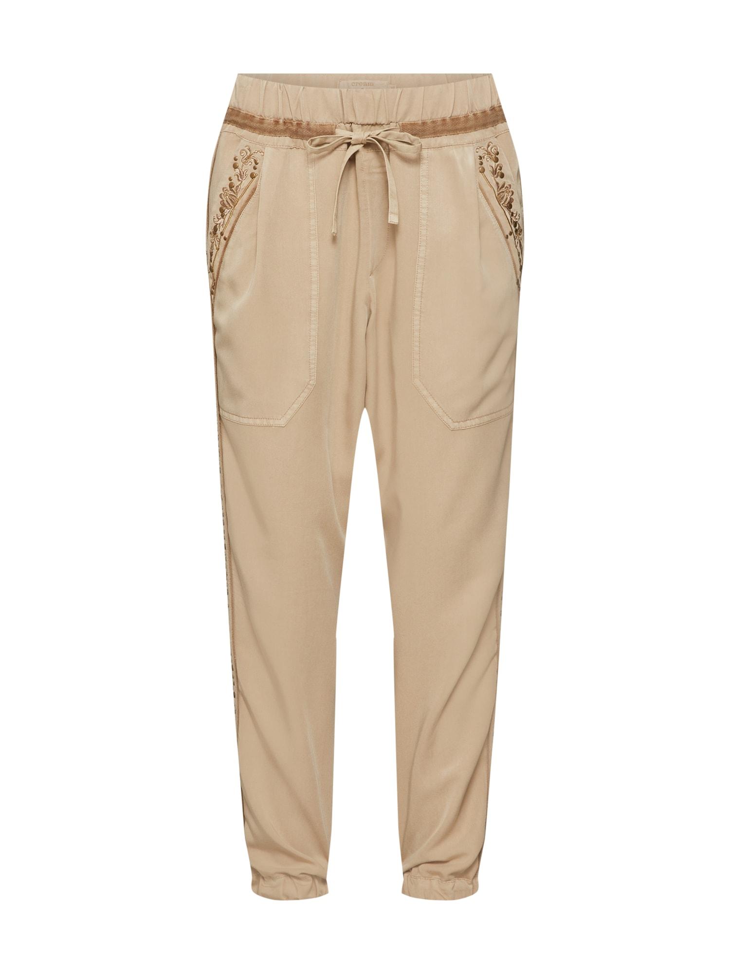 Kalhoty Belena světle béžová mokka Cream