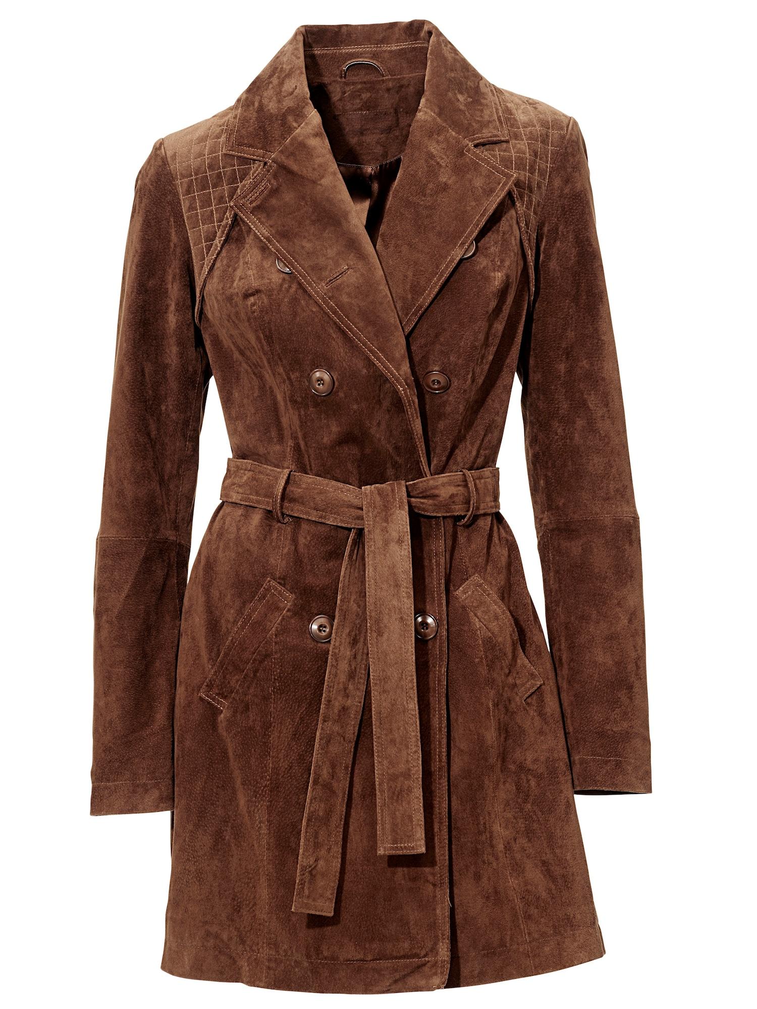 Přechodný kabát braun Heine