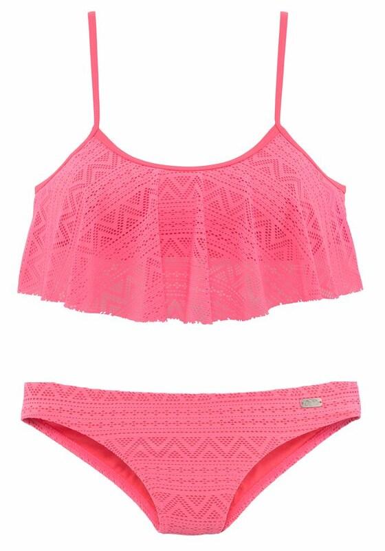 BUFFALO Bustier-Bikini in Häkeloptik jetztbilligerkaufen