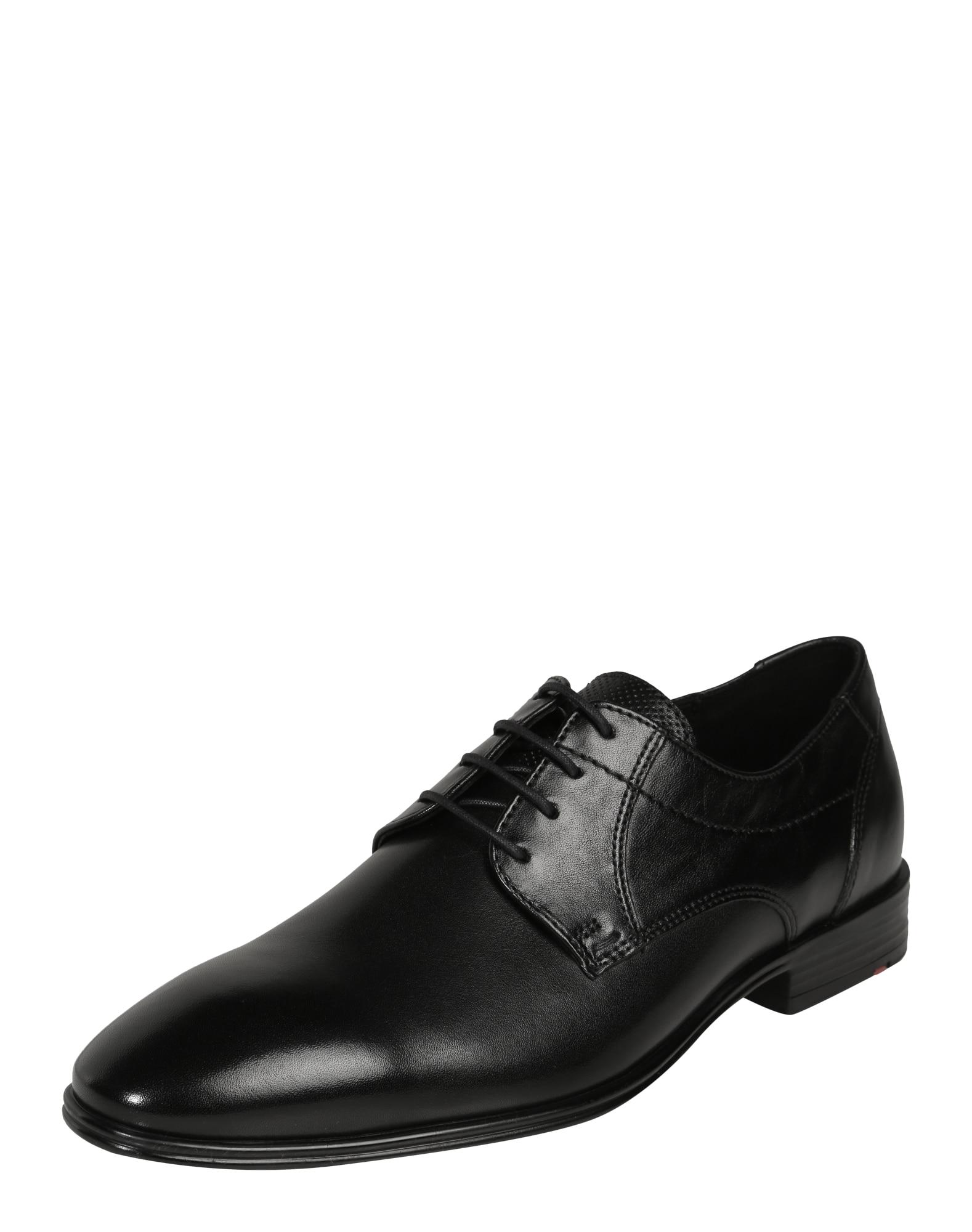 Šněrovací boty Osmond černá LLOYD