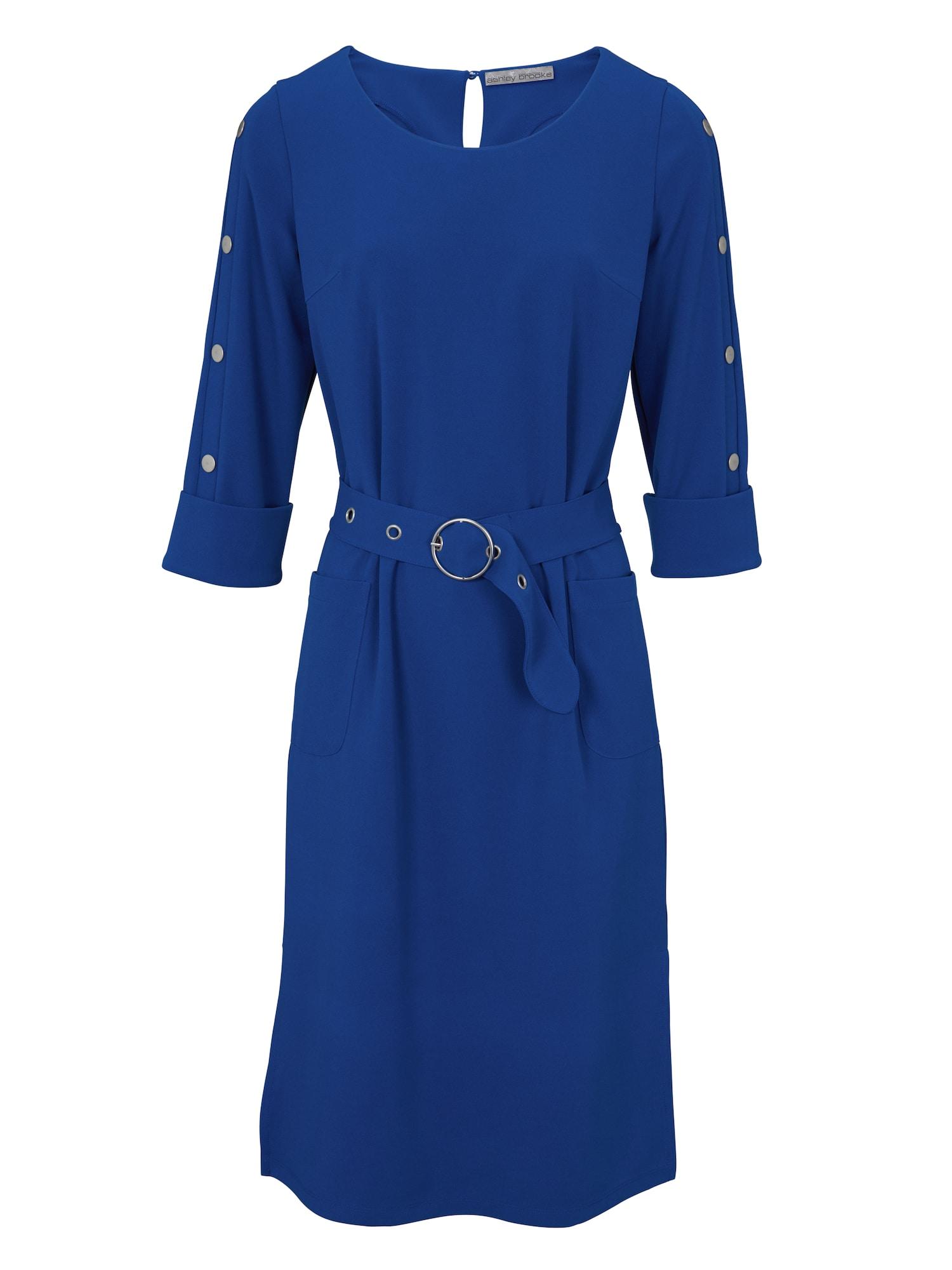 Pouzdrové šaty královská modrá Heine