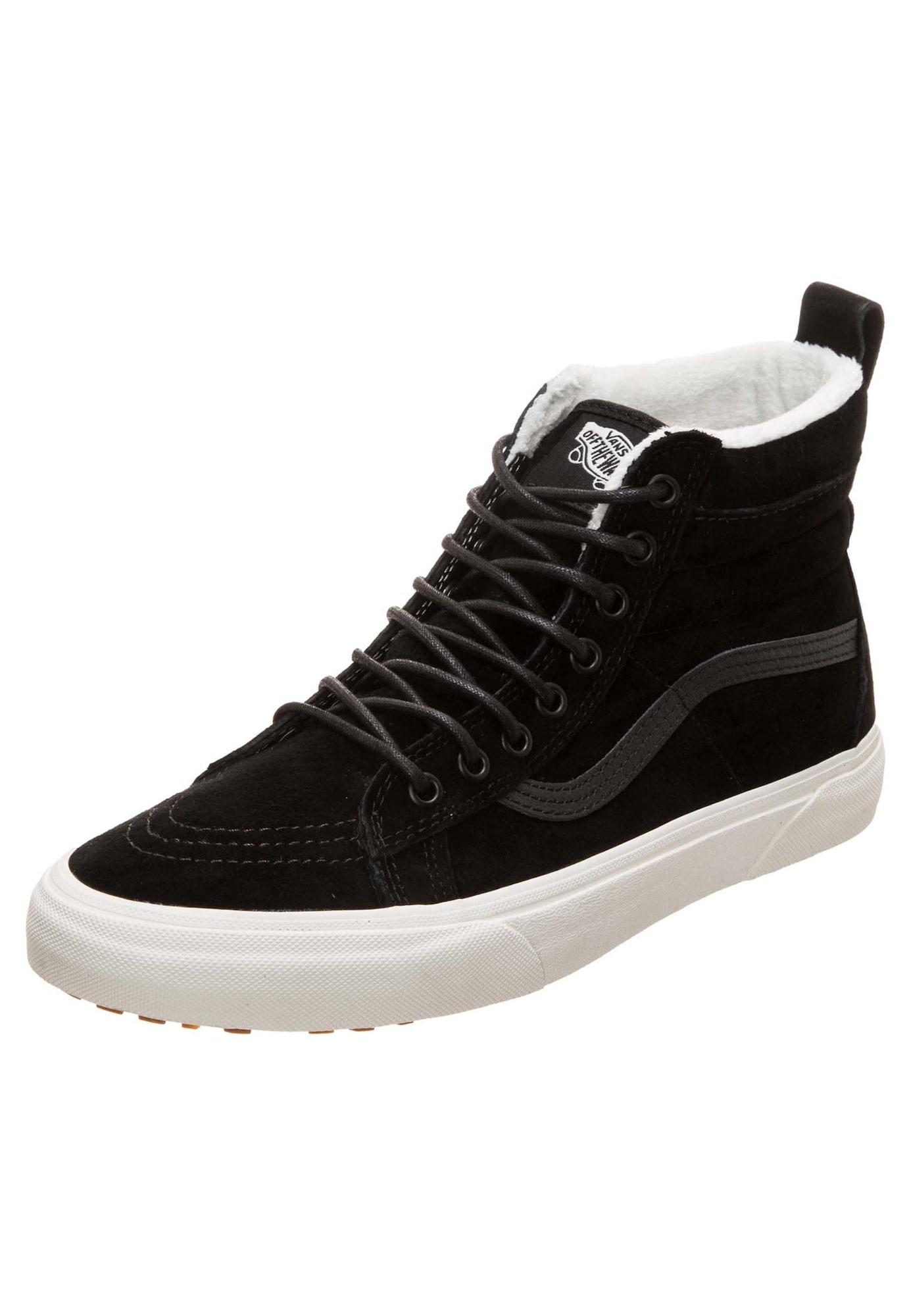 VANS, Dames Sneakers hoog 'Sk8-Hi MTE', zwart
