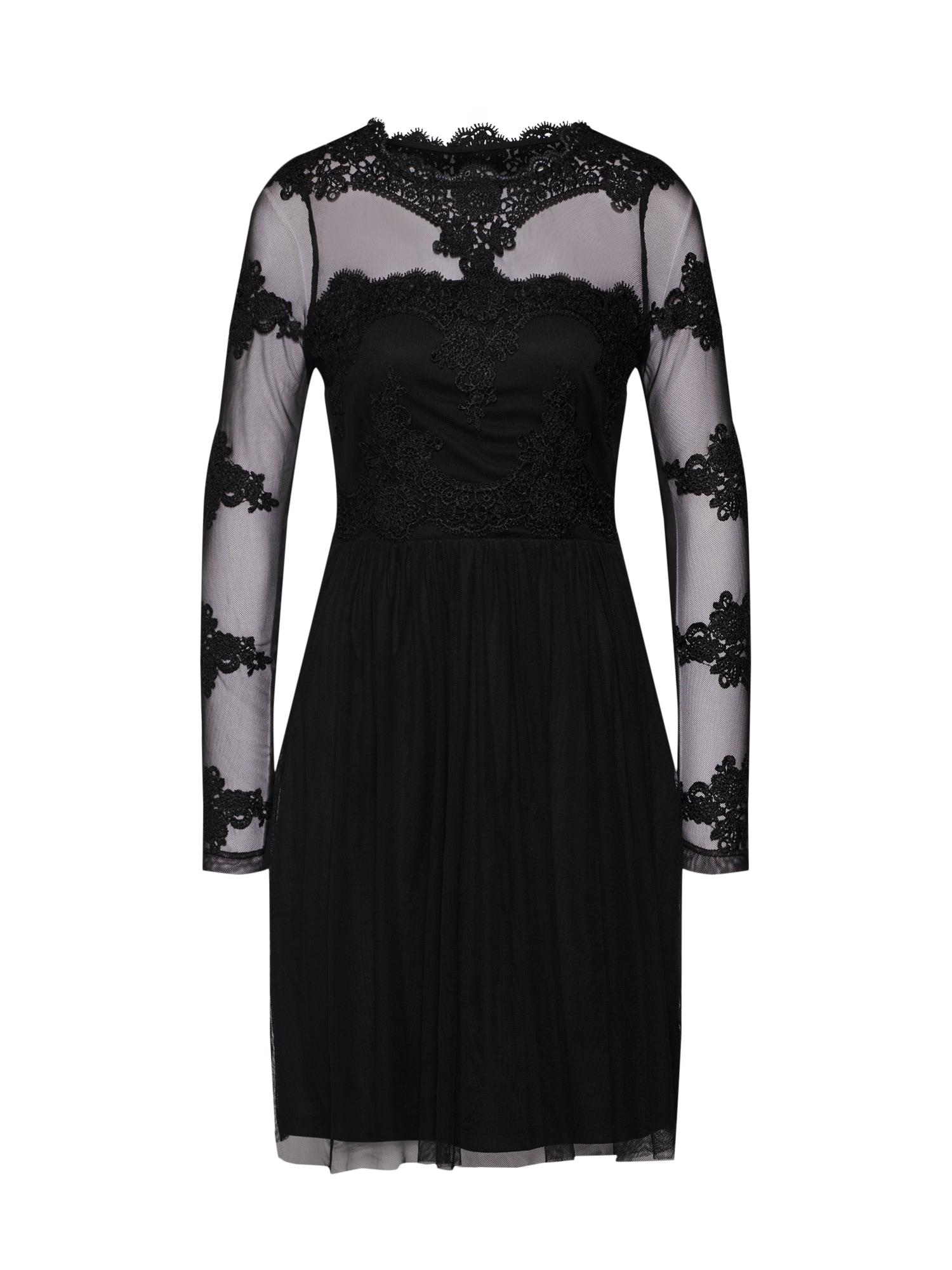 Šaty VIGEORGIOUS černá VILA