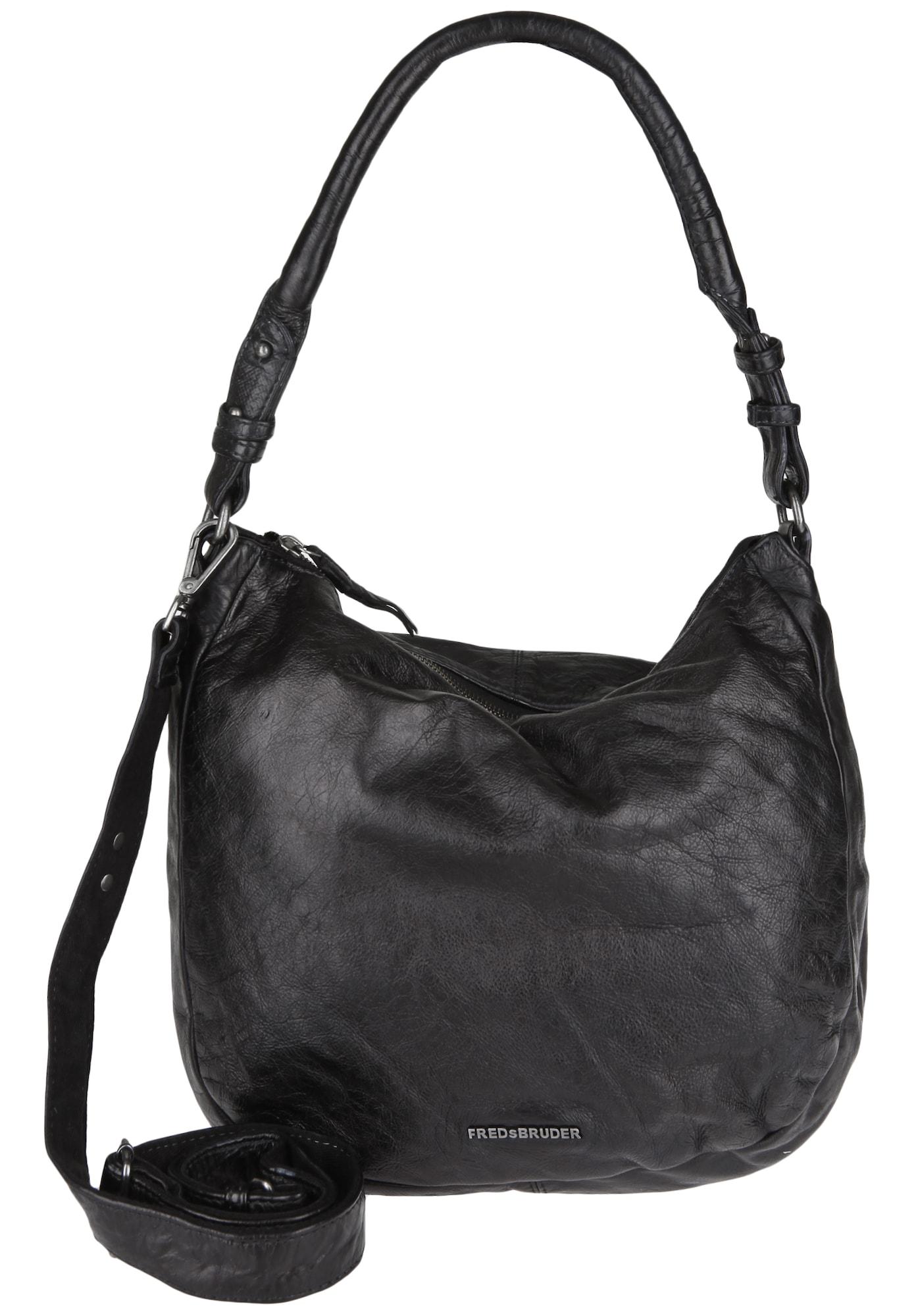 Beuteltasche 'GEM' | Taschen > Handtaschen > Beuteltaschen | Schwarz | FREDsBRUDER