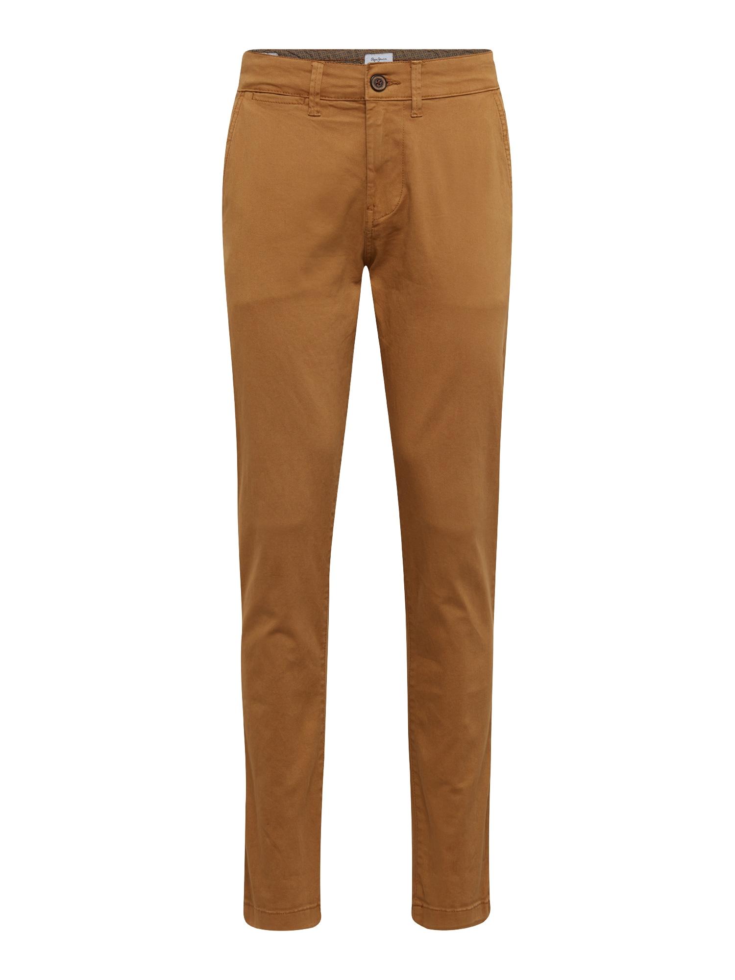 Chino kalhoty SLOANE koňaková Pepe Jeans