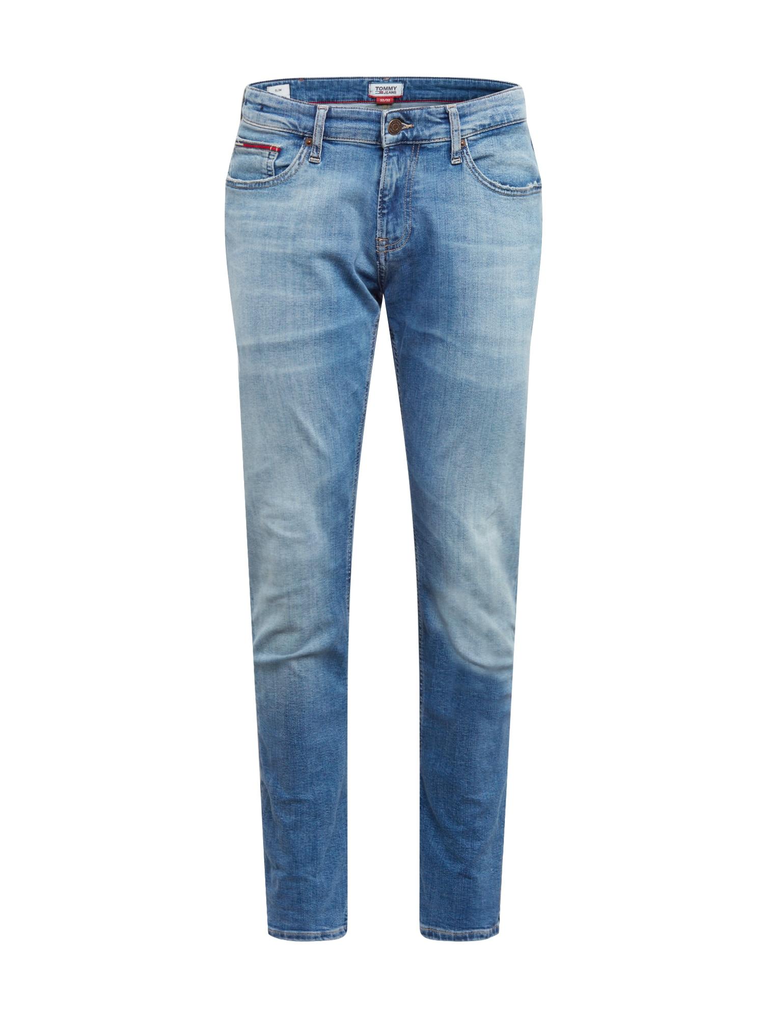 Tommy Jeans Džínsy 'SCANTON'  modrá denim