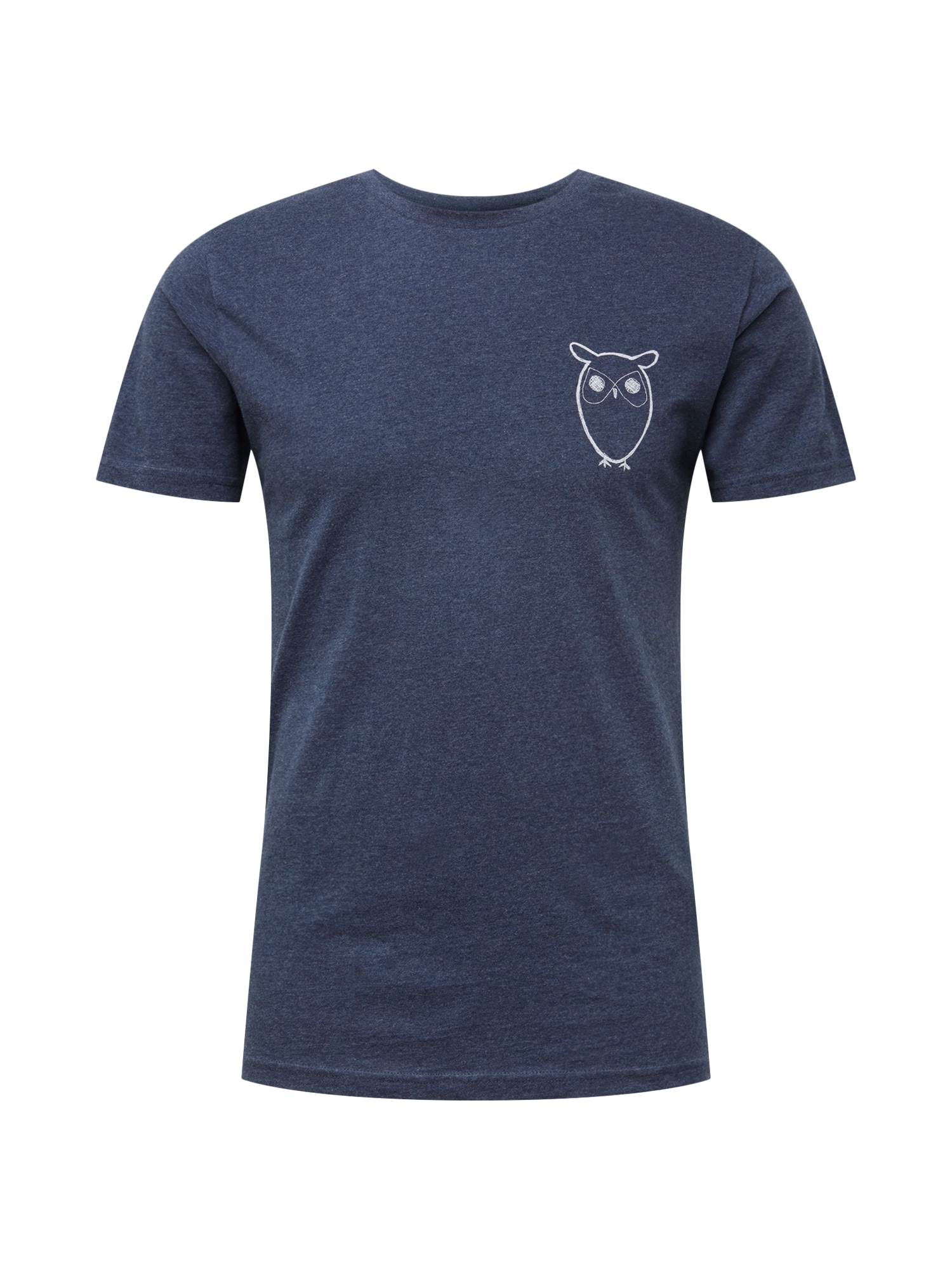 Tričko noční modrá KnowledgeCotton Apparel