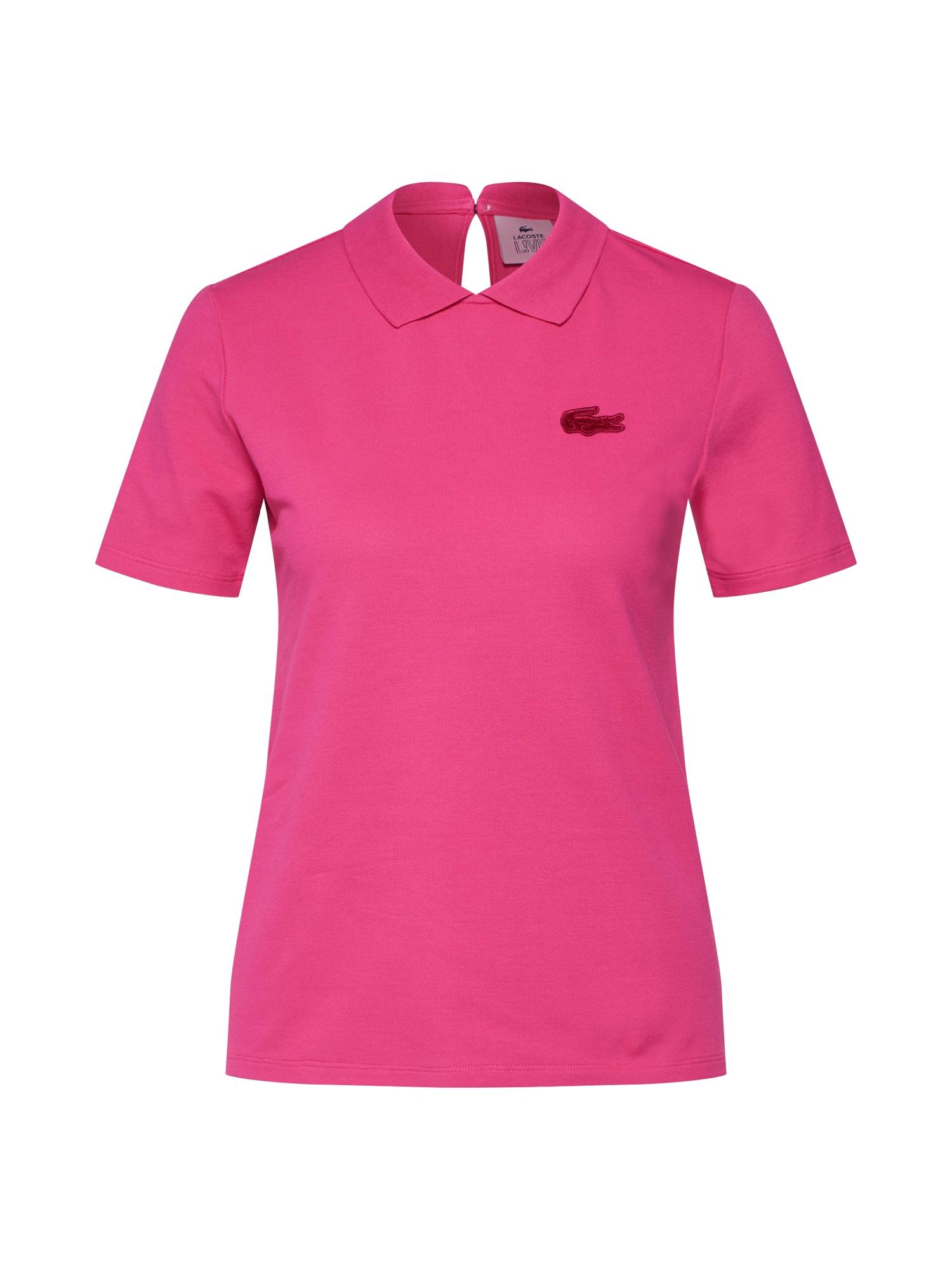 Tričko pink LACOSTE