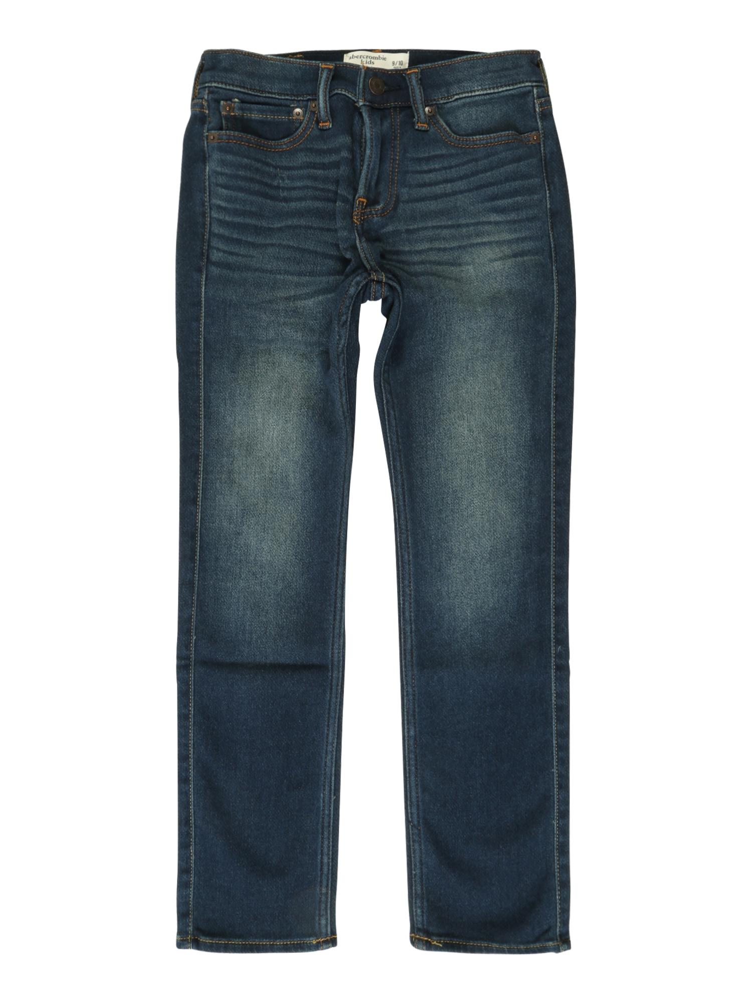 Džíny KI231-6503 námořnická modř Abercrombie & Fitch