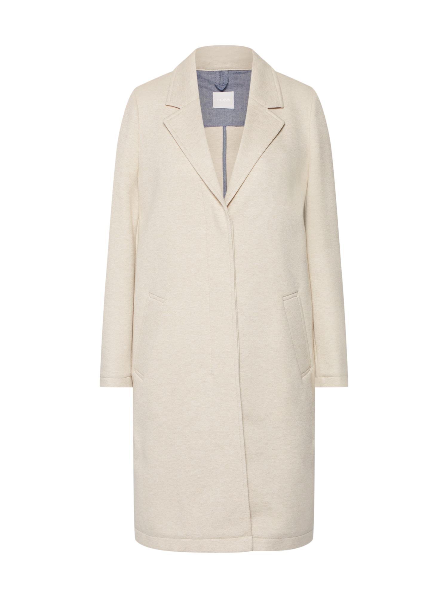 Přechodný kabát Ocomfy krémová BOSS