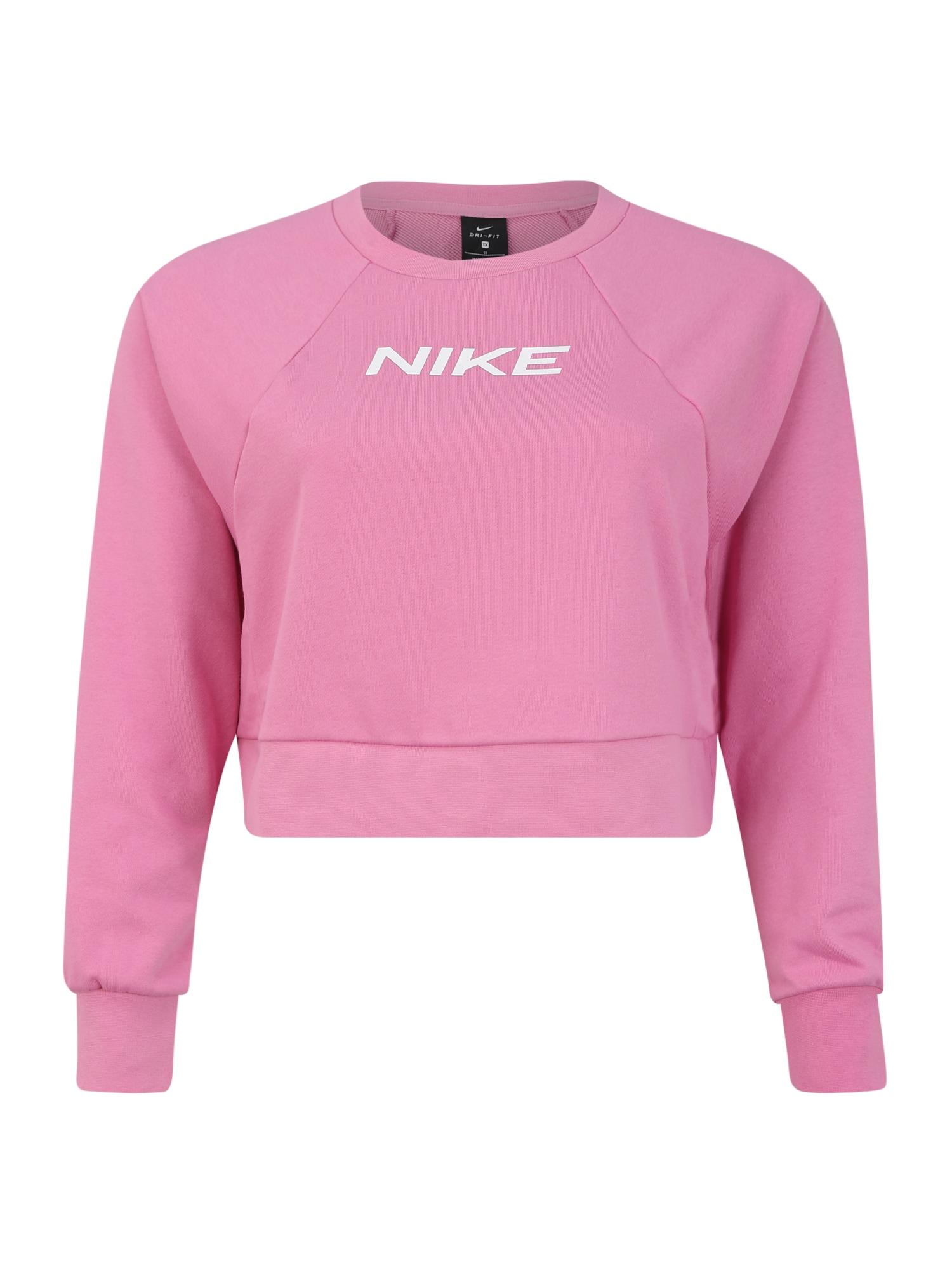 NIKE Sportovní mikina 'GX PLUS'  pink