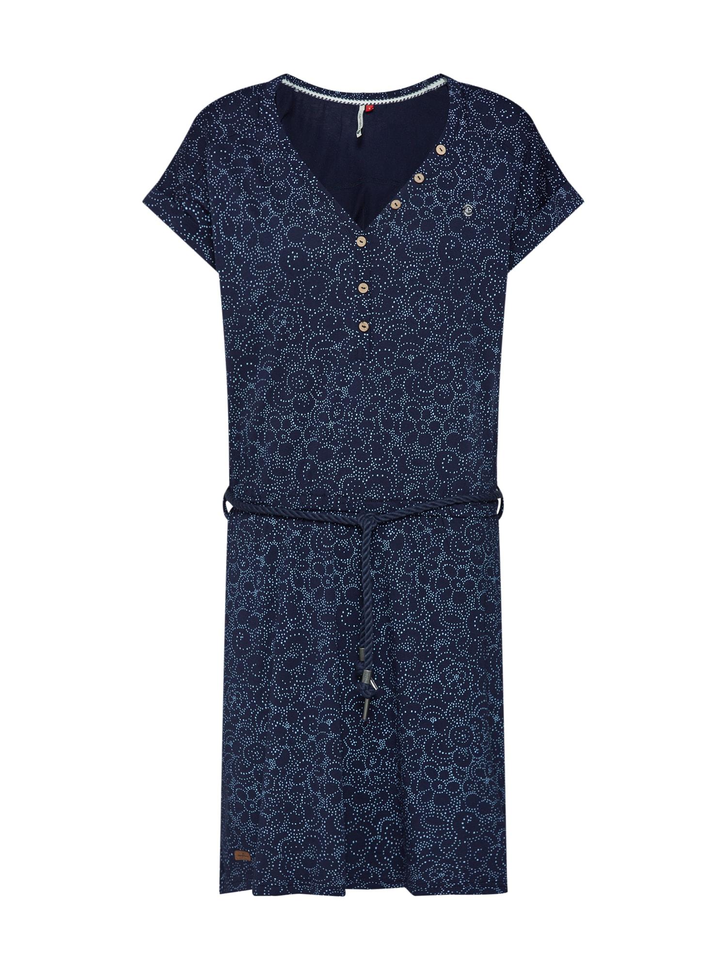 Šaty Brita námořnická modř světlemodrá Ragwear