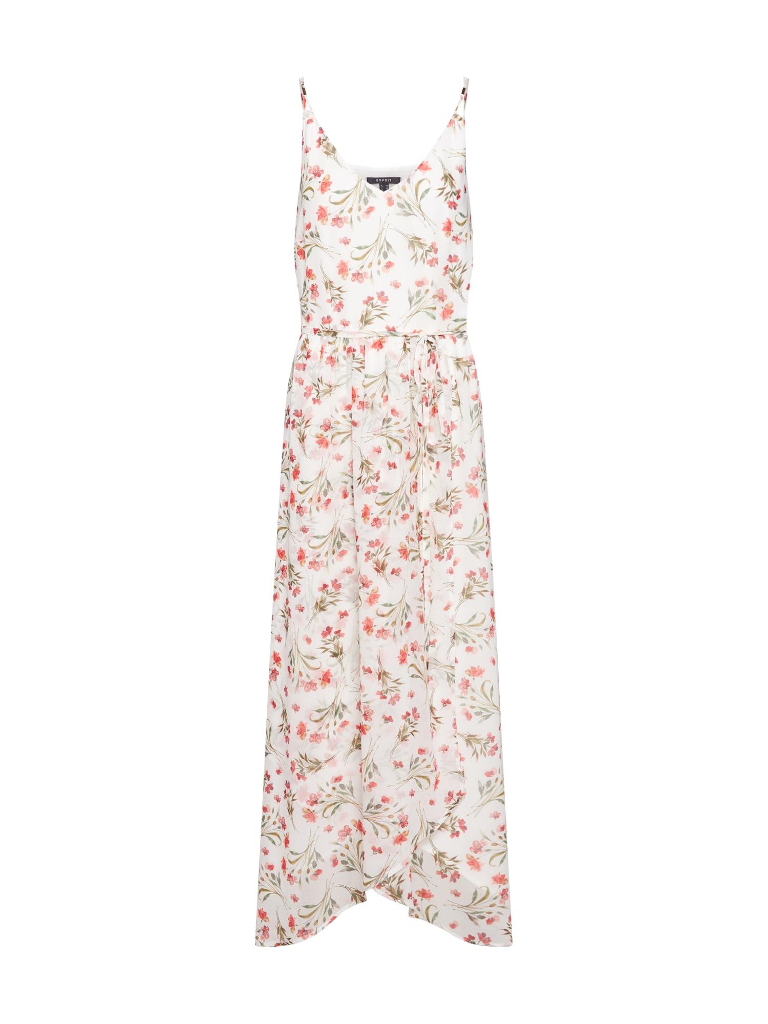 Letní šaty mix barev offwhite Esprit Collection