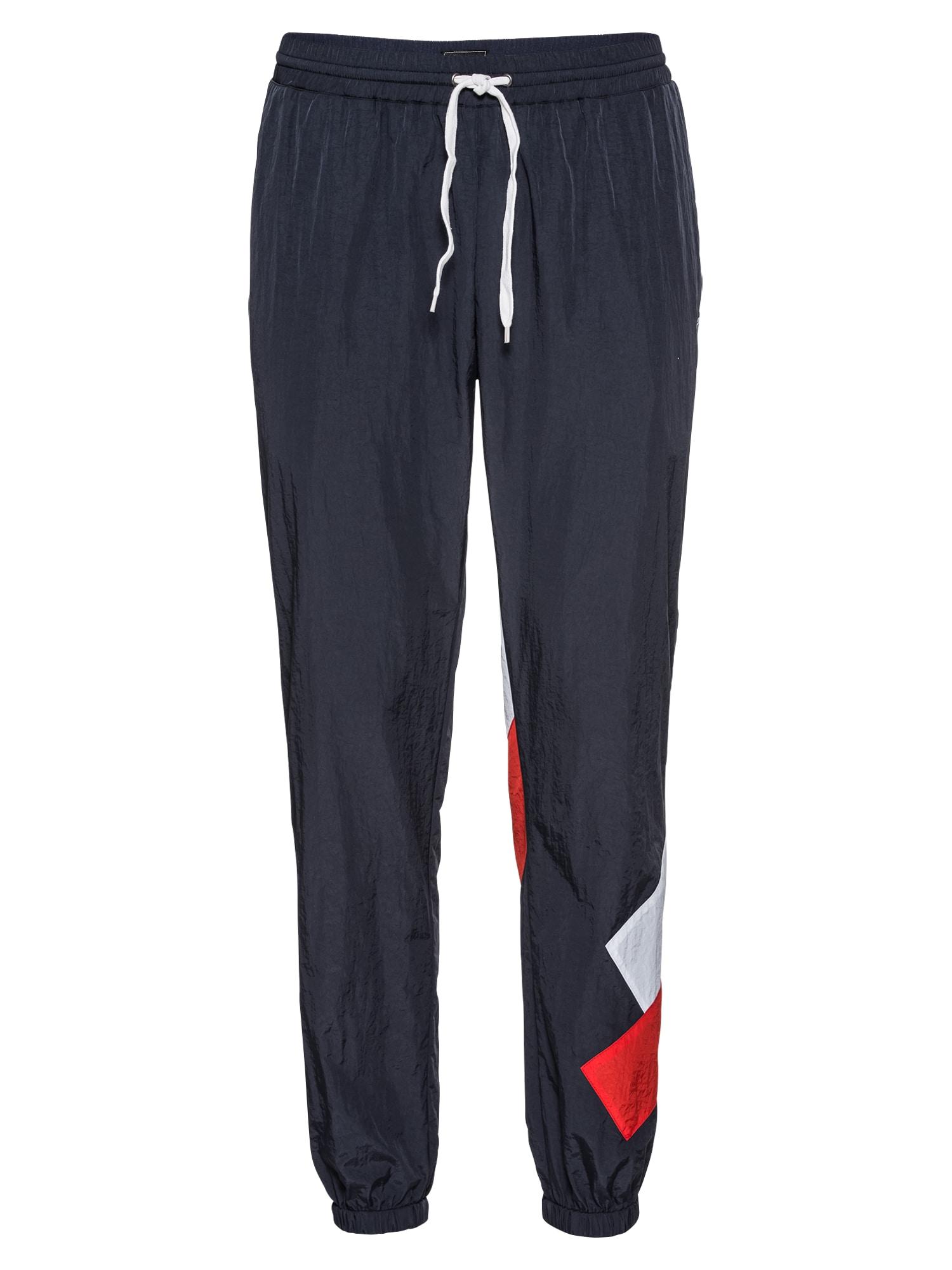 Kalhoty Get Down Track Pant námořnická modř červená bílá Iriedaily