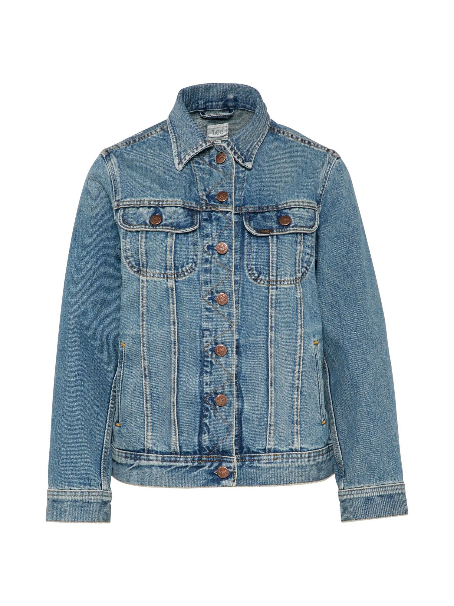Lee Dames Tussenjas 90S RIDER JACKET blue denim