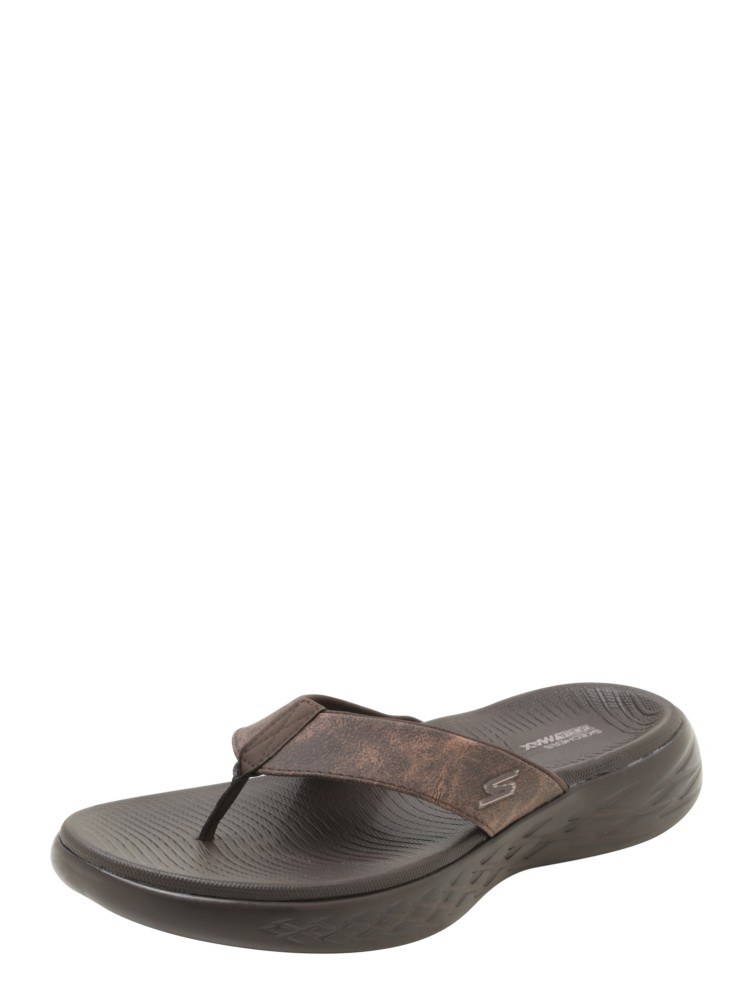 Žabky 3 Point Perform Tex Sandal Molded Footbed hnědá SKECHERS