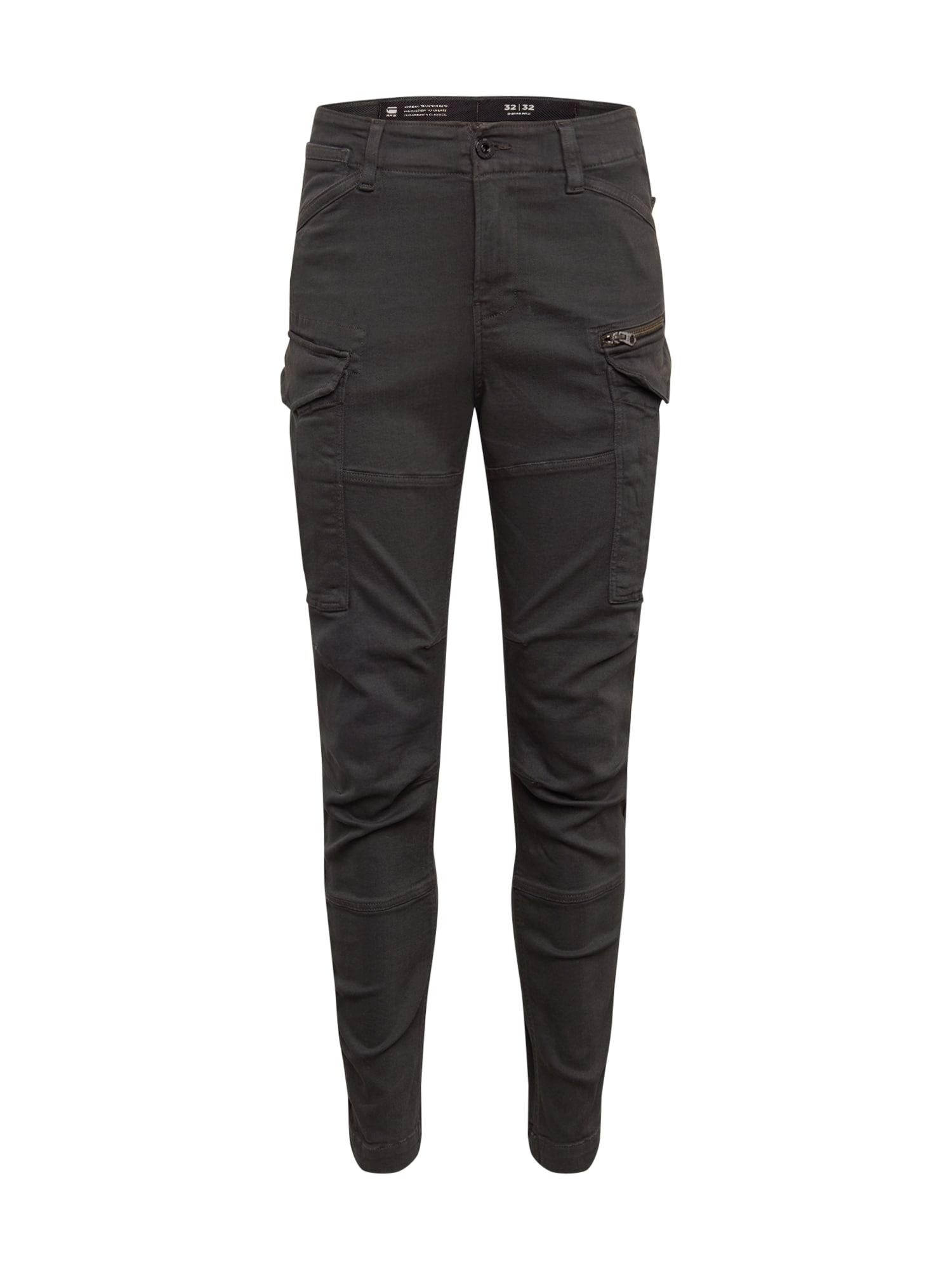 G-Star RAW Nohavice 'Rovic zip 3d skinny' čierna