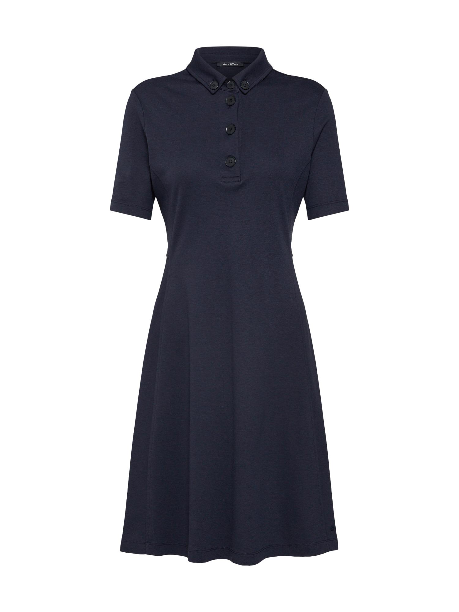 Marc OPolo Košilové šaty tmavě modrá Marc O'Polo