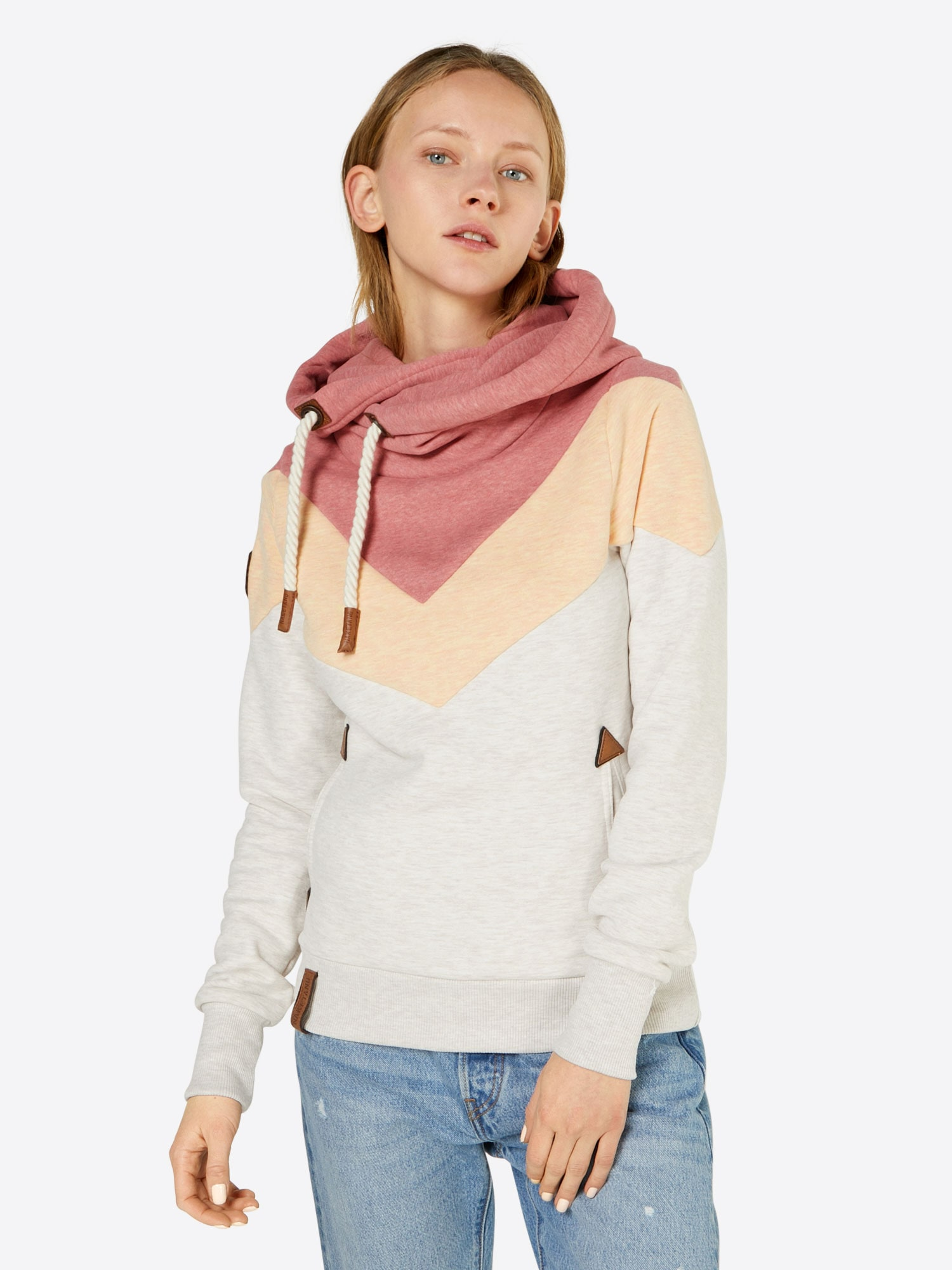 Sweatshirt 'Patty immer Hnde hoch'