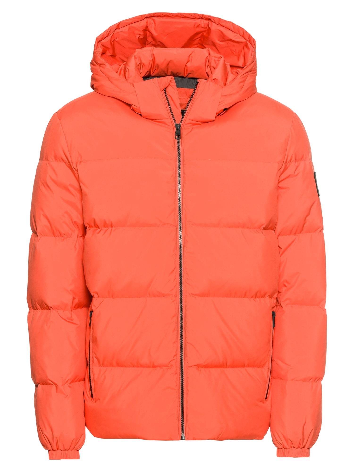 Calvin Klein Jeans Zimní bunda  oranžová