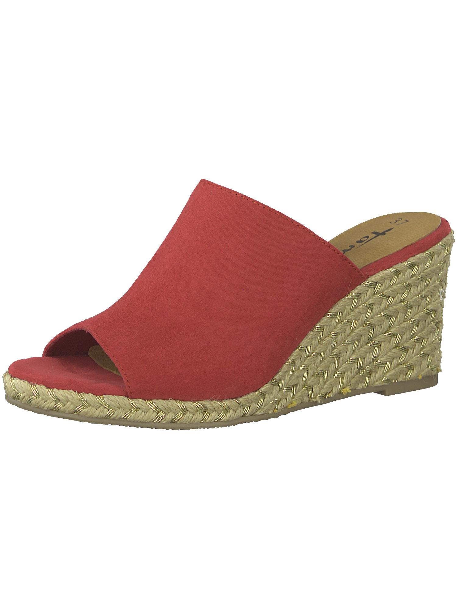 Pantofle červená TAMARIS