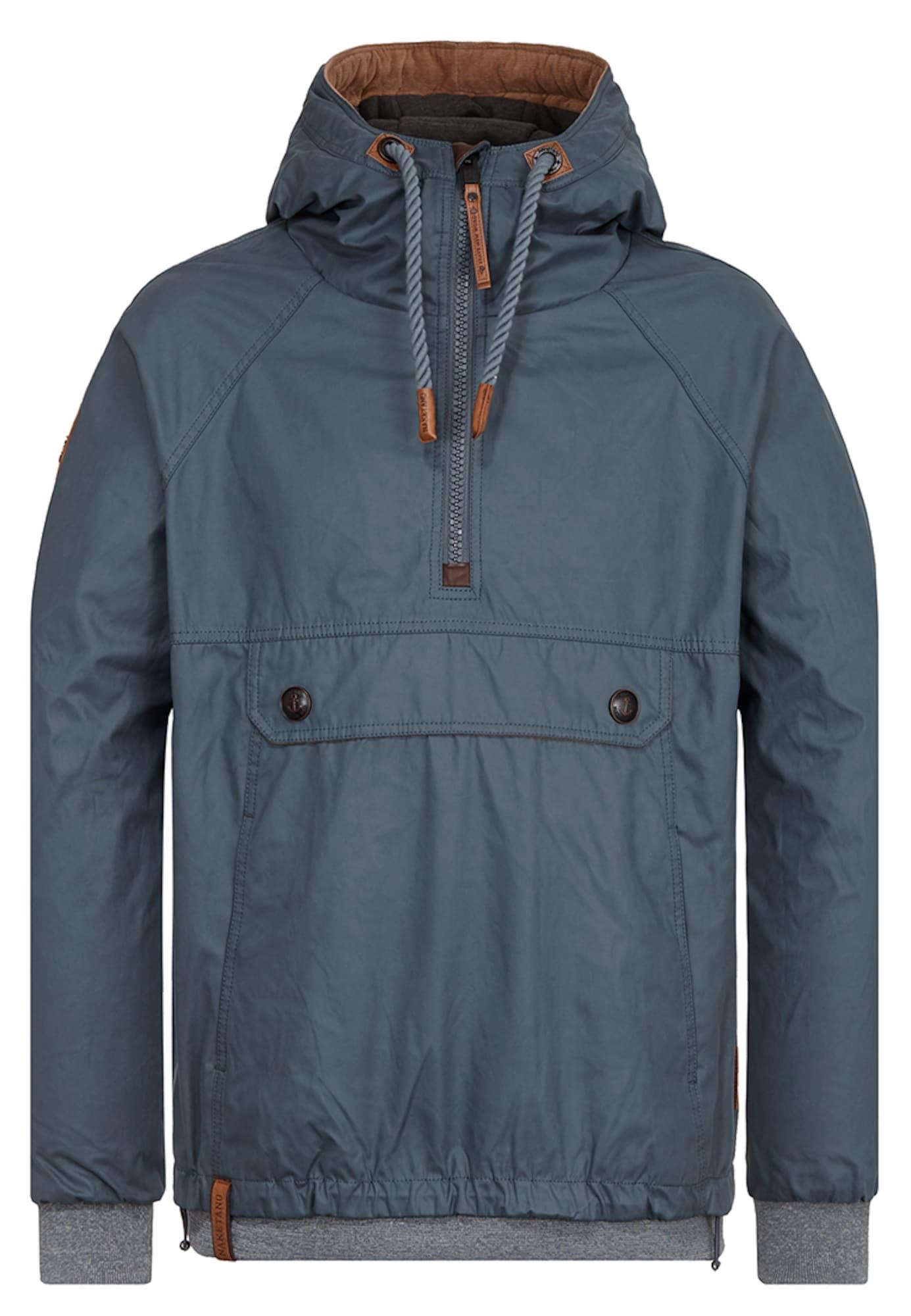 Zimní bunda Hartgekochte Eier chladná modrá Naketano